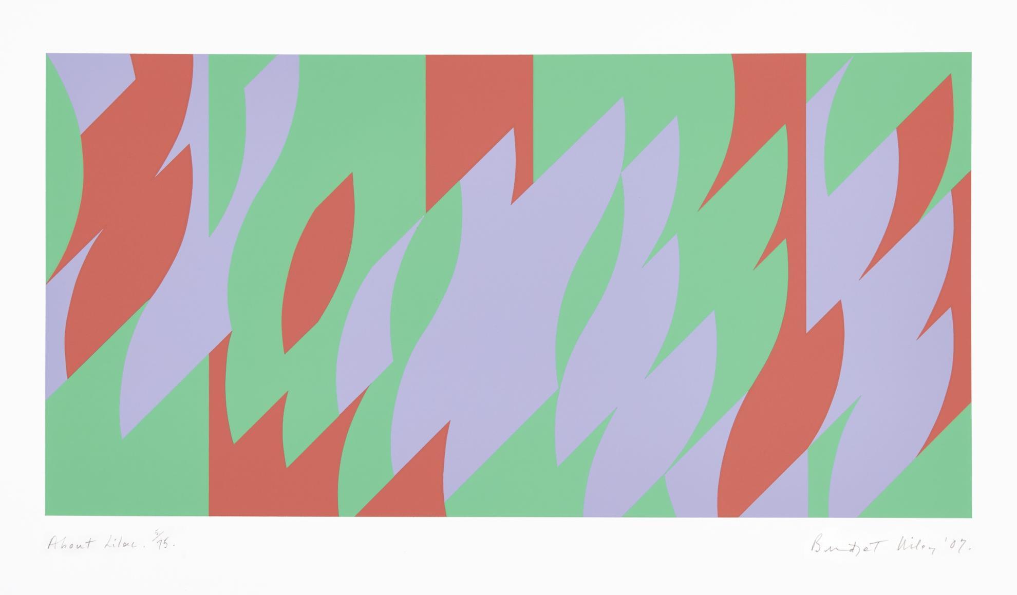 Bridget Riley-About Lilac (S. 65)-2007