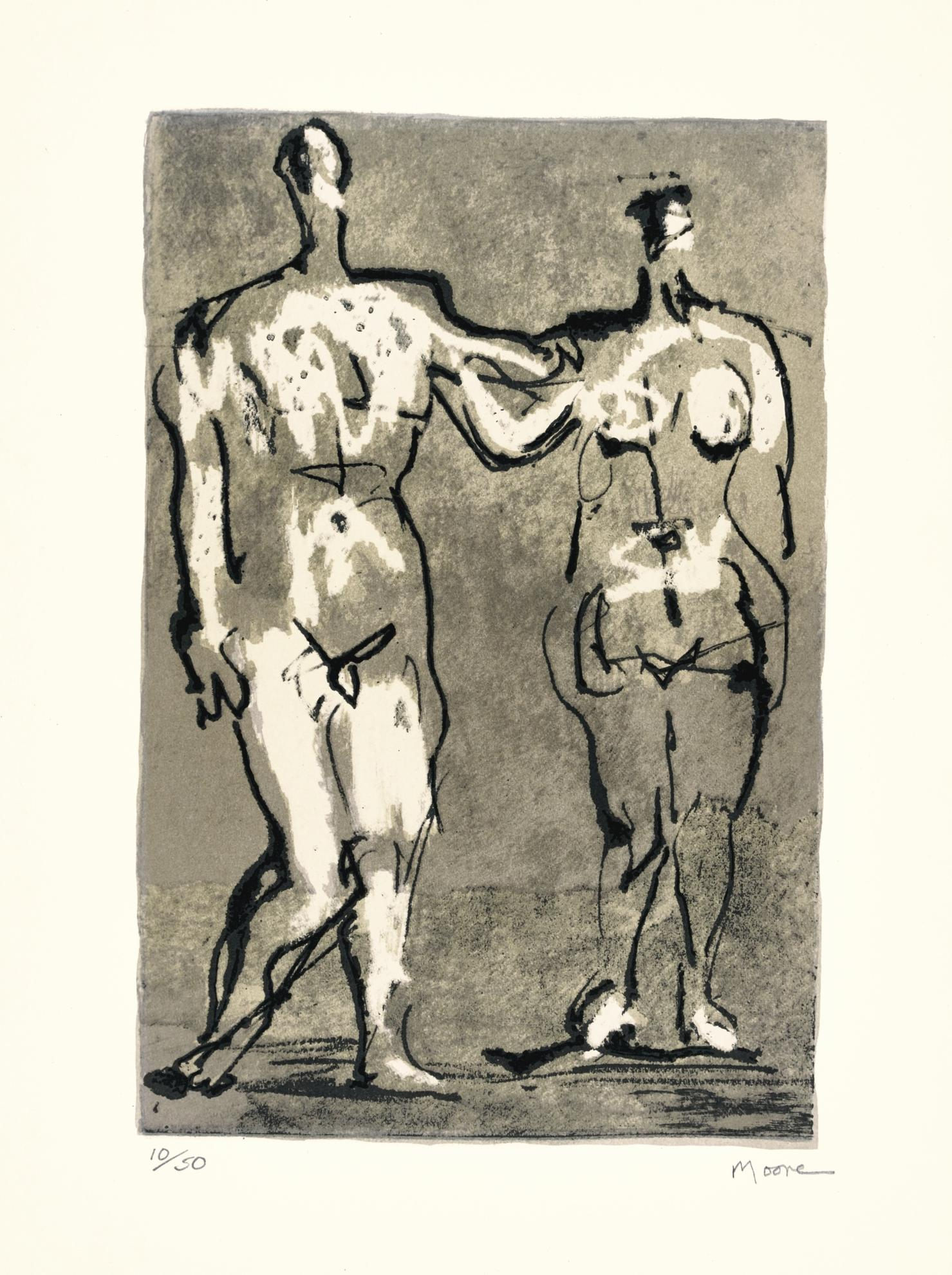 Henry Moore-Seven Ages Of Man (C. 658-665, & 667)-1982