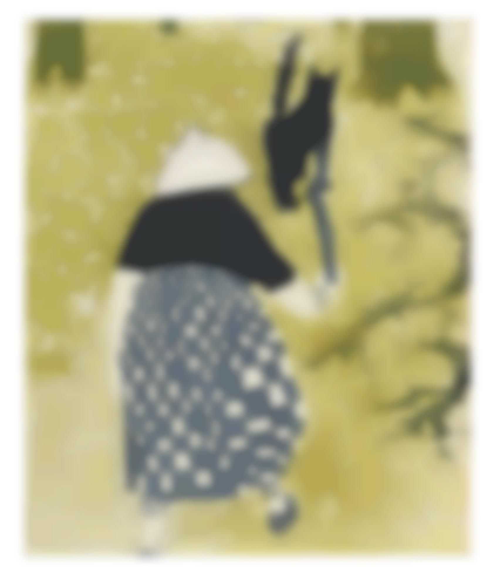Howard Hodgkin-Untitled (Old Lady Walking Away) (H. 2)-1959