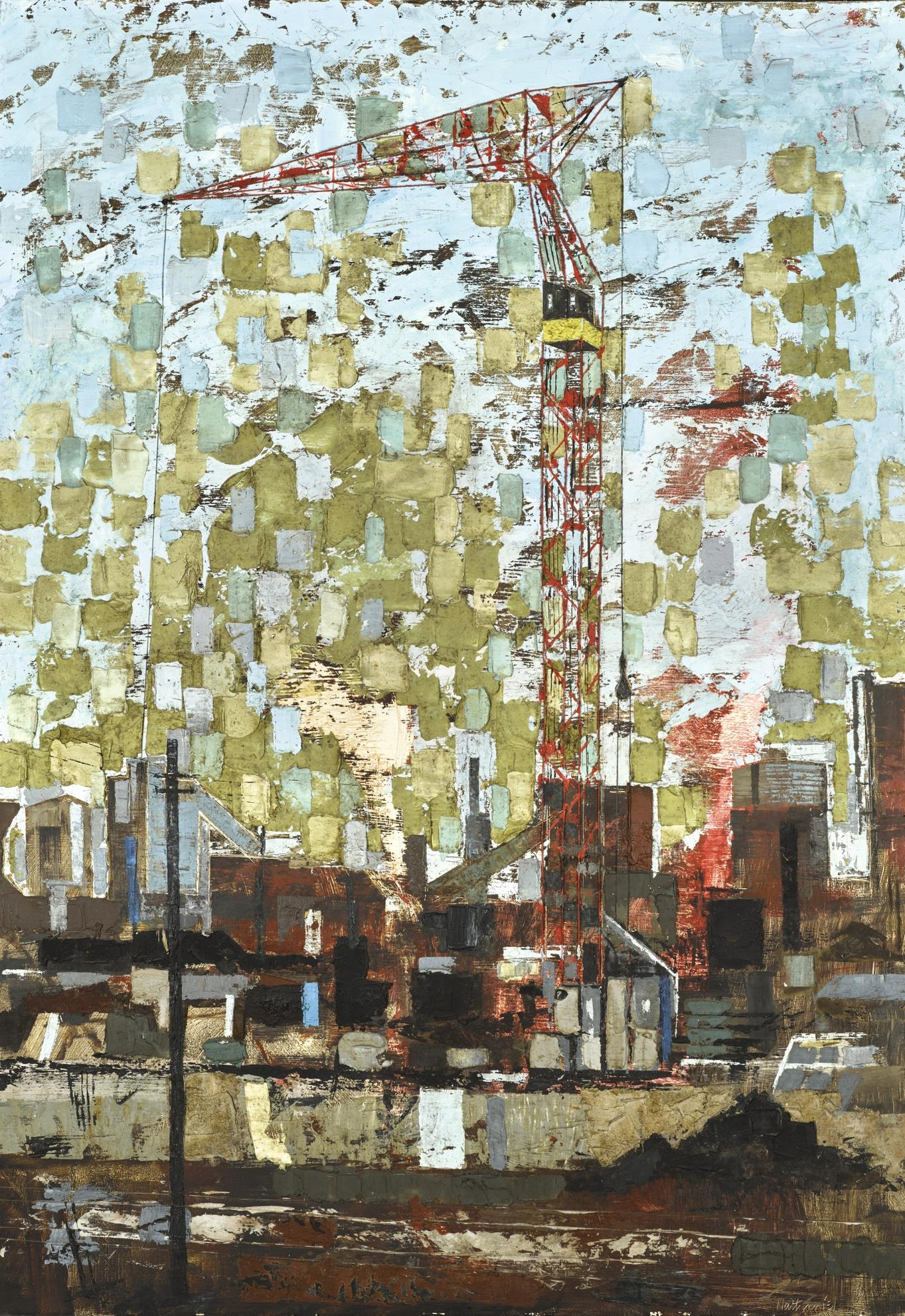 Thomas Nathaniel Davies - Steelworks, Cardiff-1960
