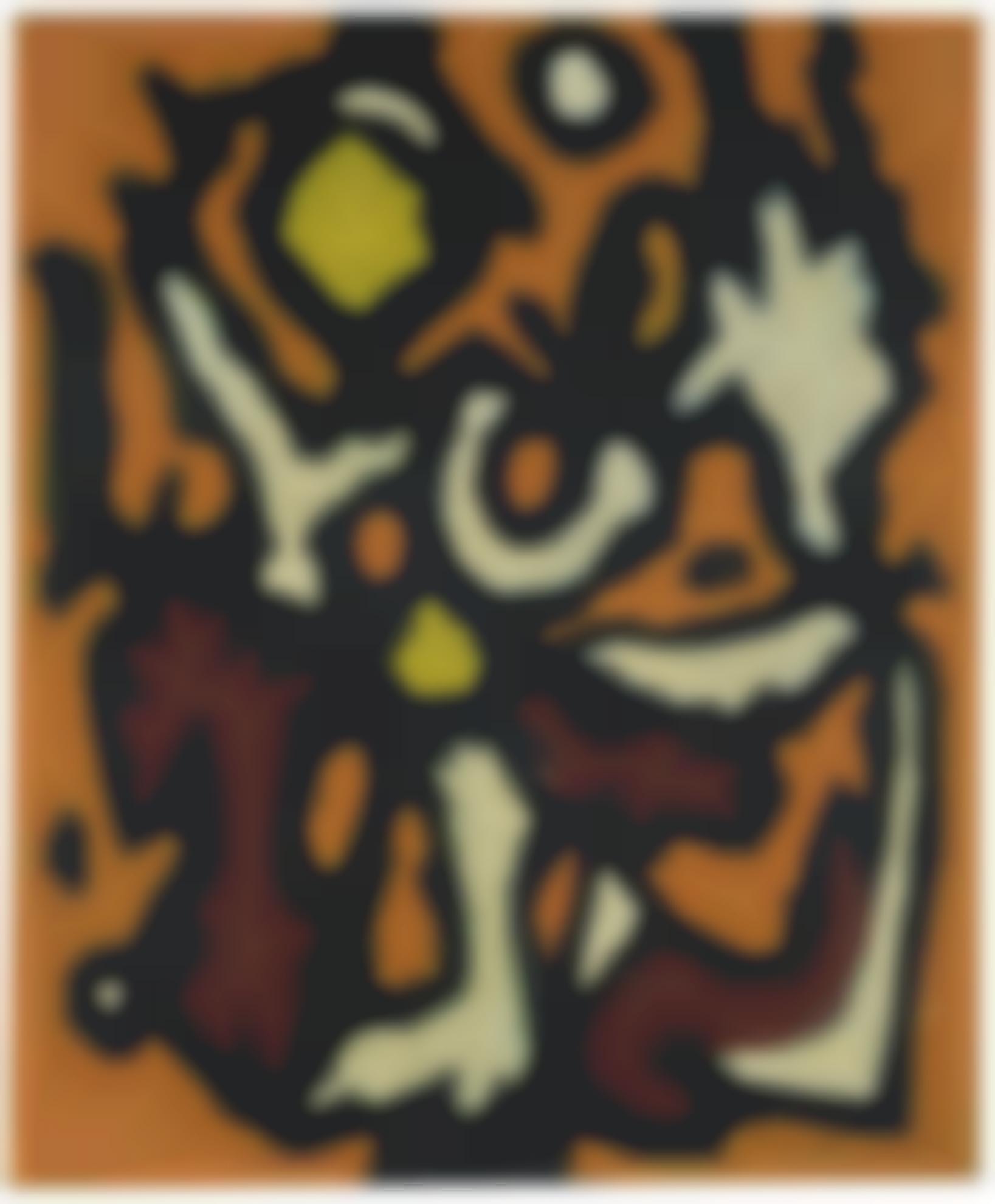 William Gear-Peinture-1950
