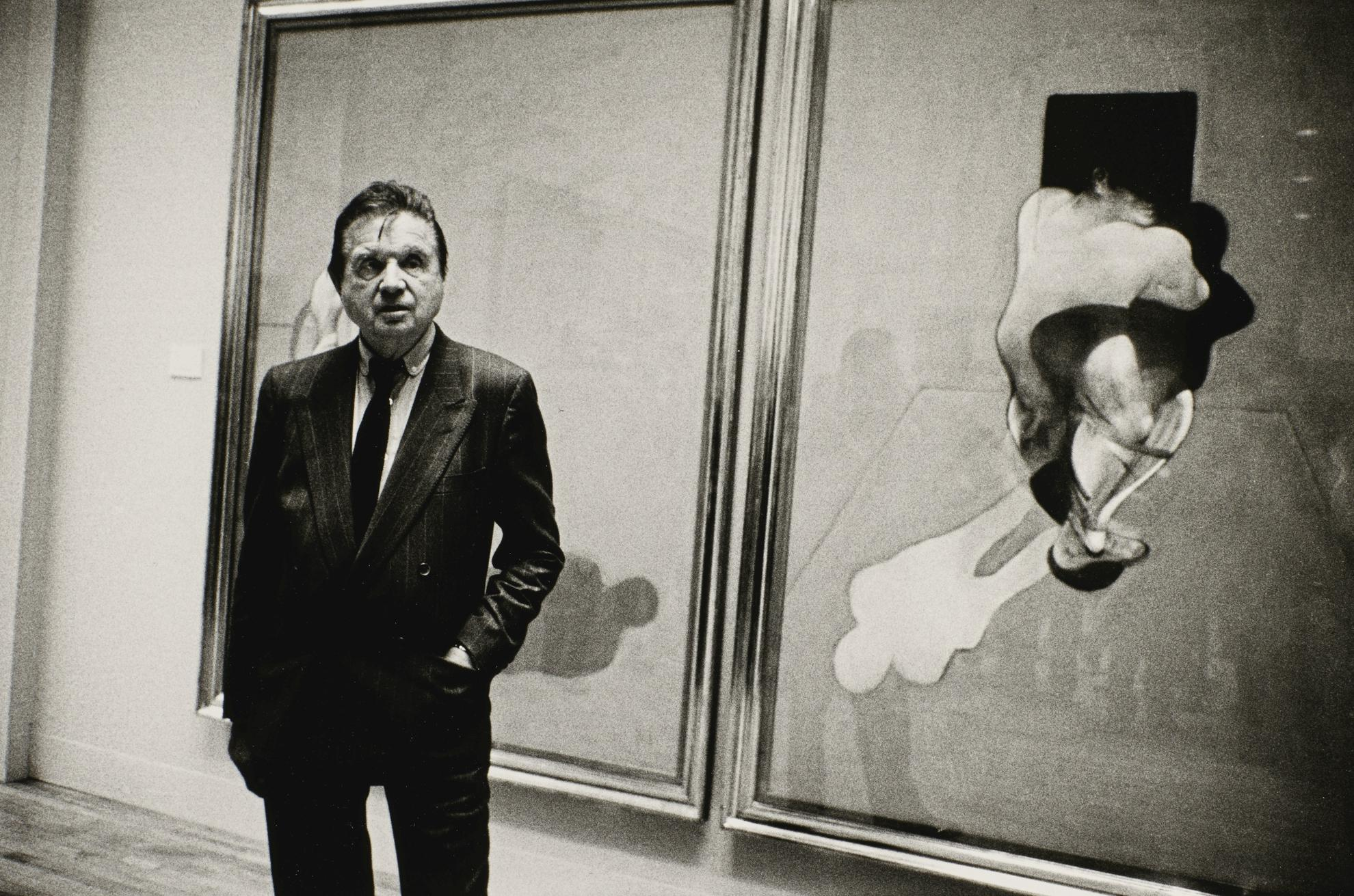 Neil Libbert-Francis Bacon, Tate Gallery, May 1985-