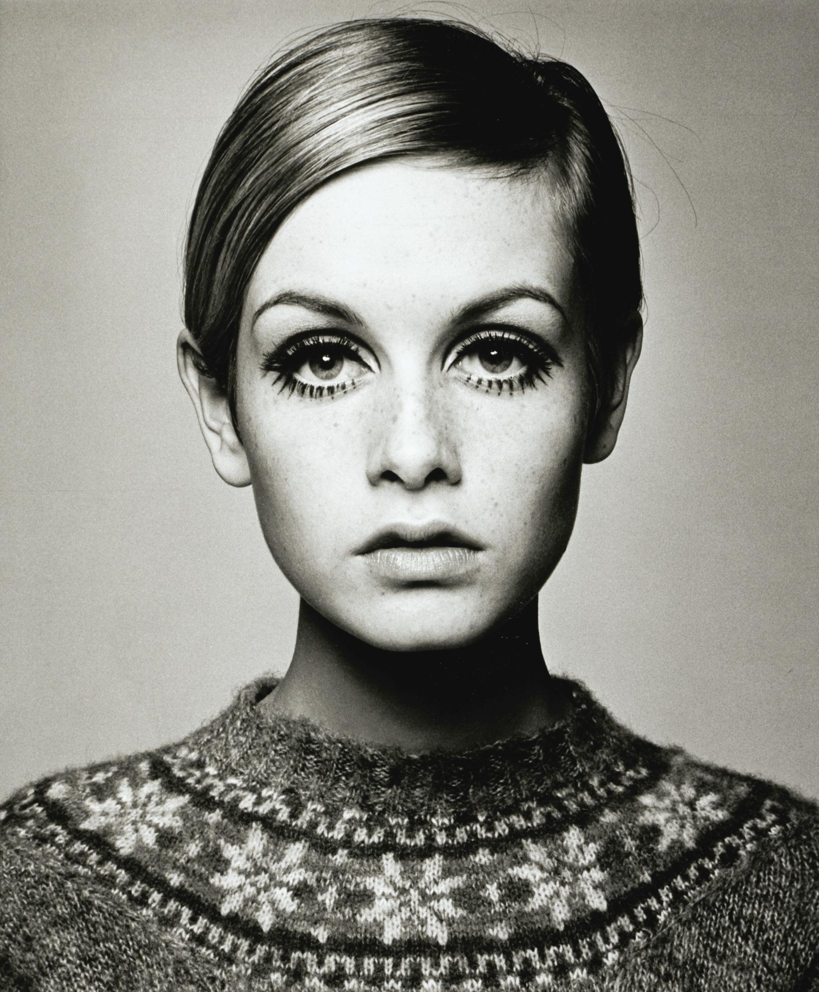 Barry Lategan - Twiggy-1966