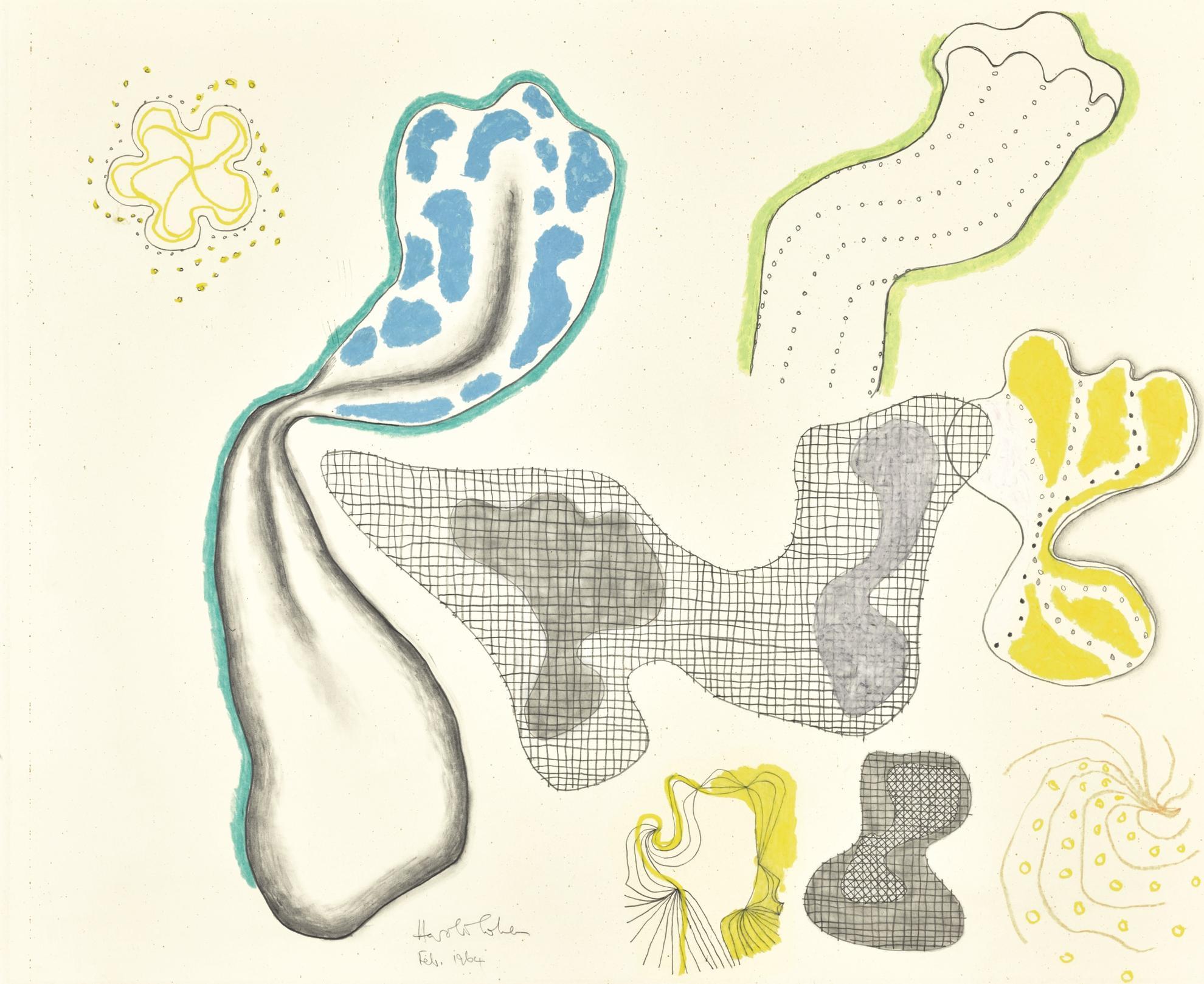 Harold Cohen-Untitled-1964