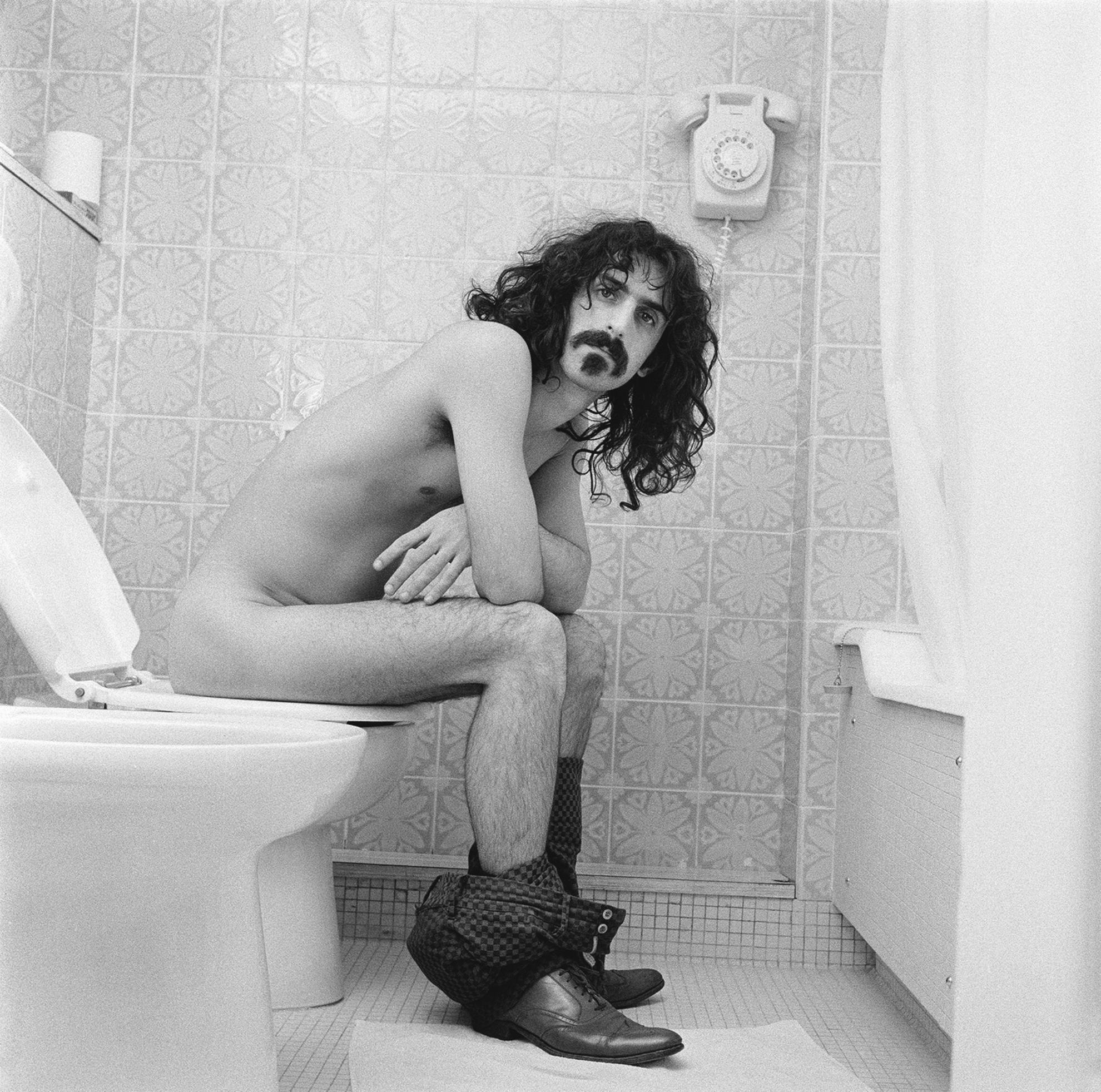 Robert Davidson - Frank Zappa At The Royal Garden Hotel, London, 1967-
