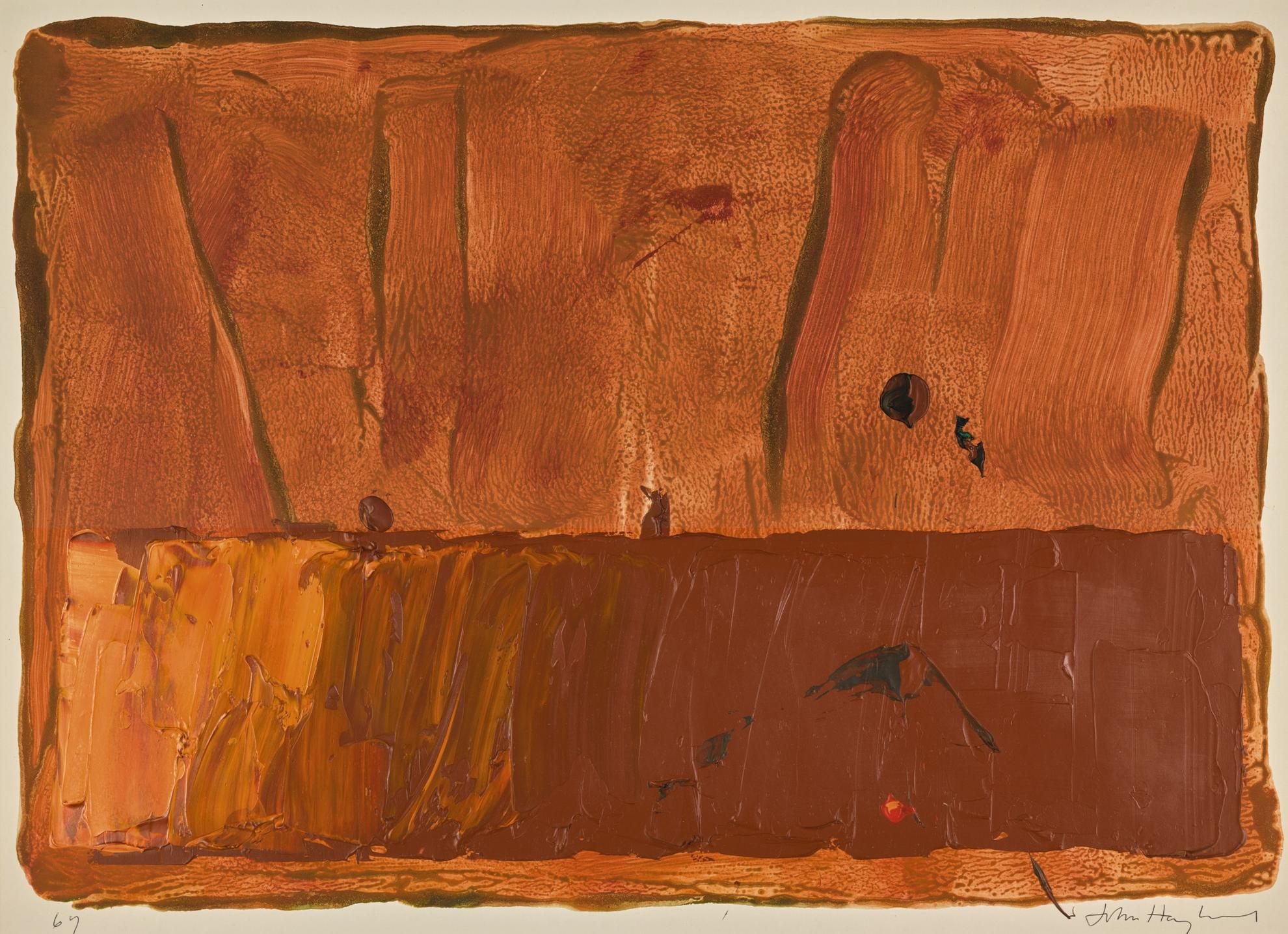 John Hoyland-Untitled-1969