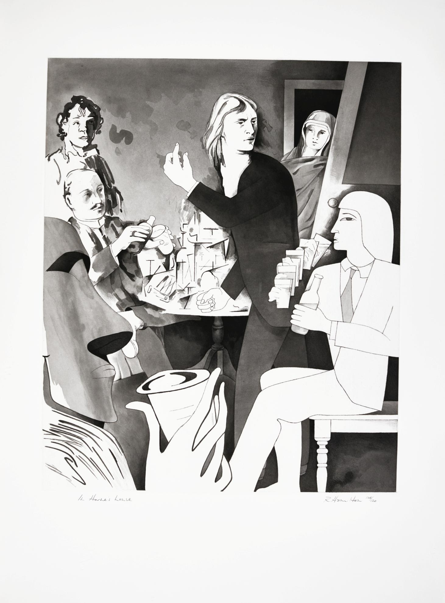 Richard Hamilton-In Hornes House (L. 120)-1982
