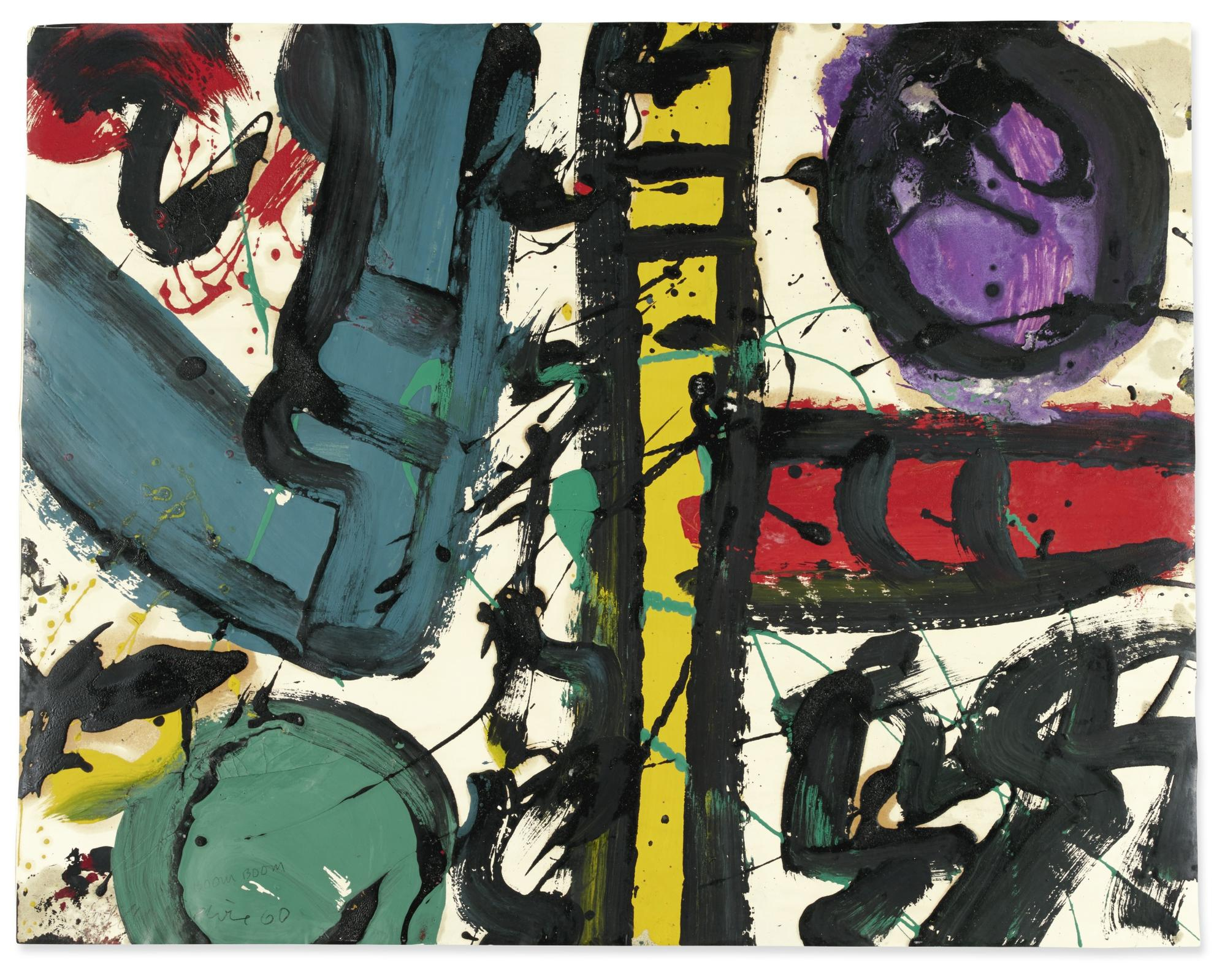 Alan Davie-Boom Boom-1960
