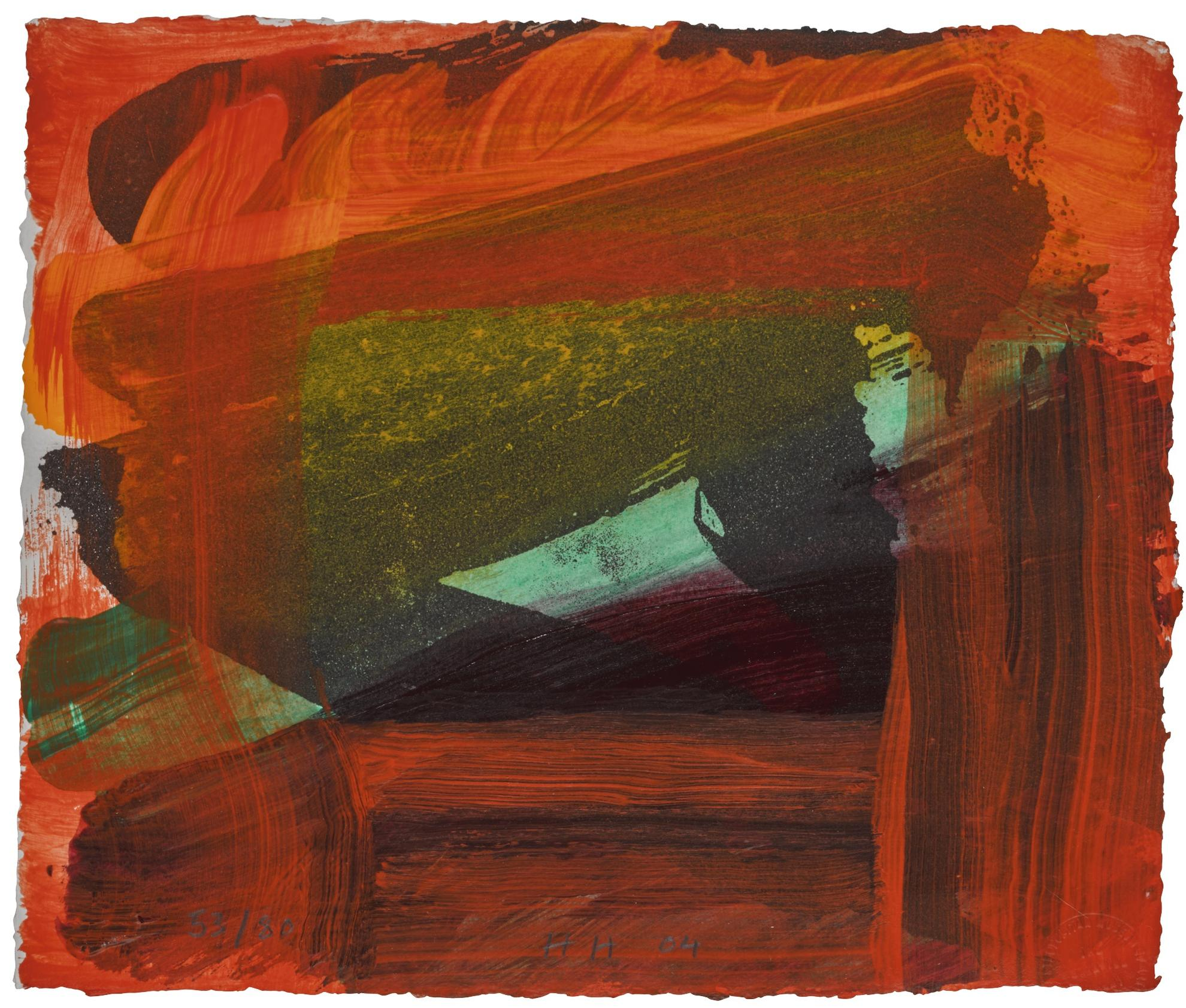 Howard Hodgkin-Turkish Delight (Not In Heenk)-2004