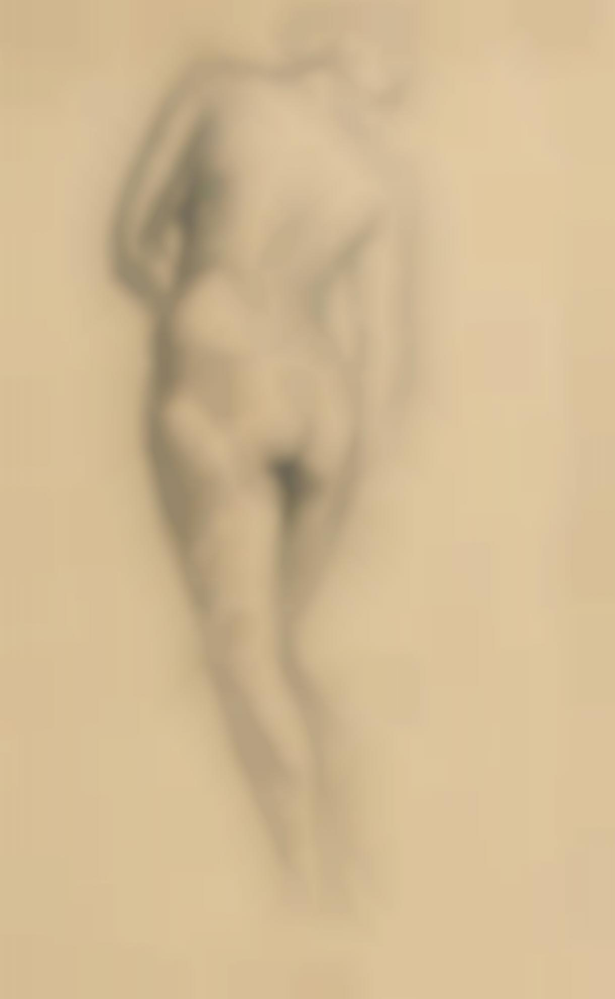 Christopher Wood-Female Nude-