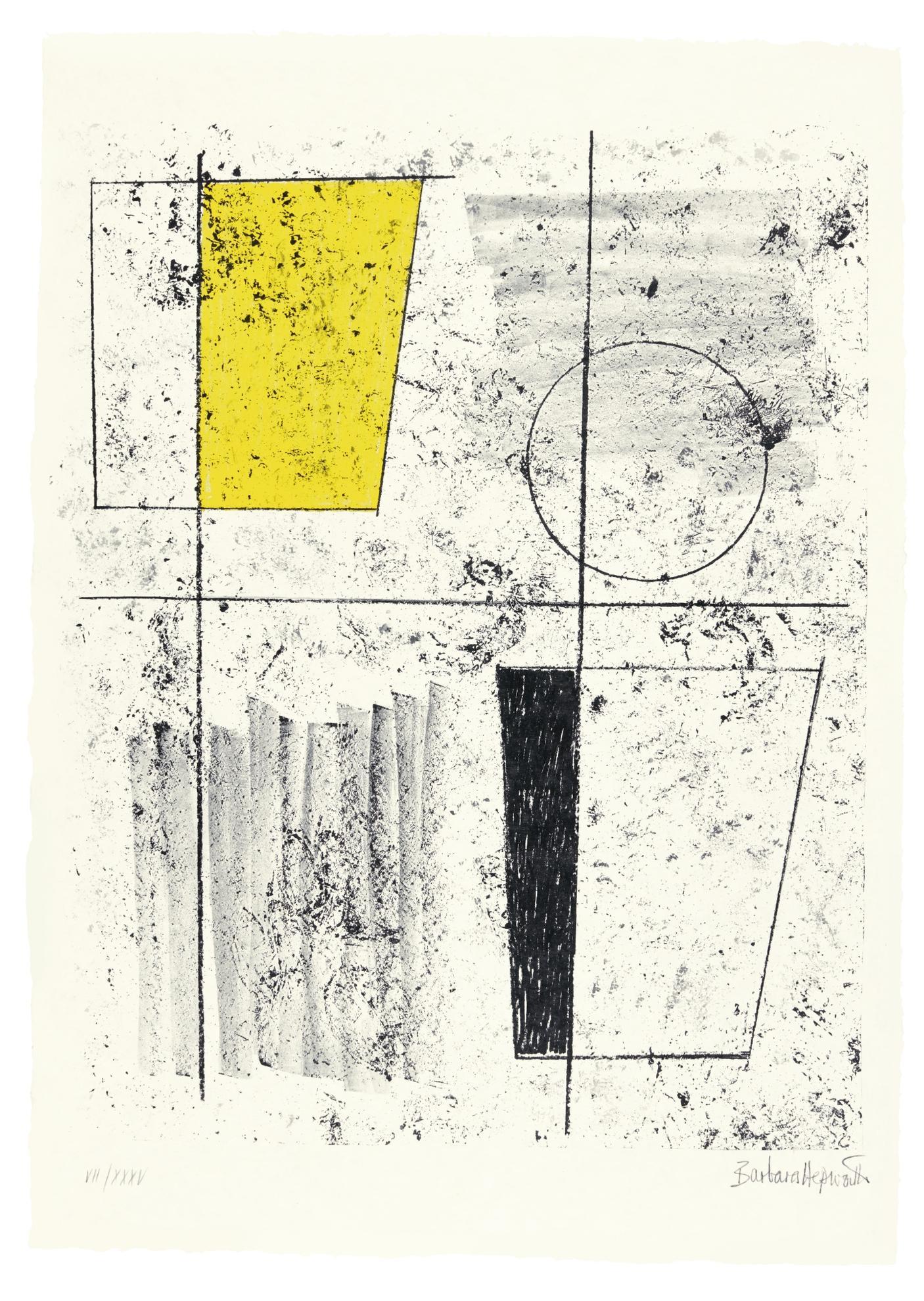 Barbara Hepworth-Three Forms Assembling-1968