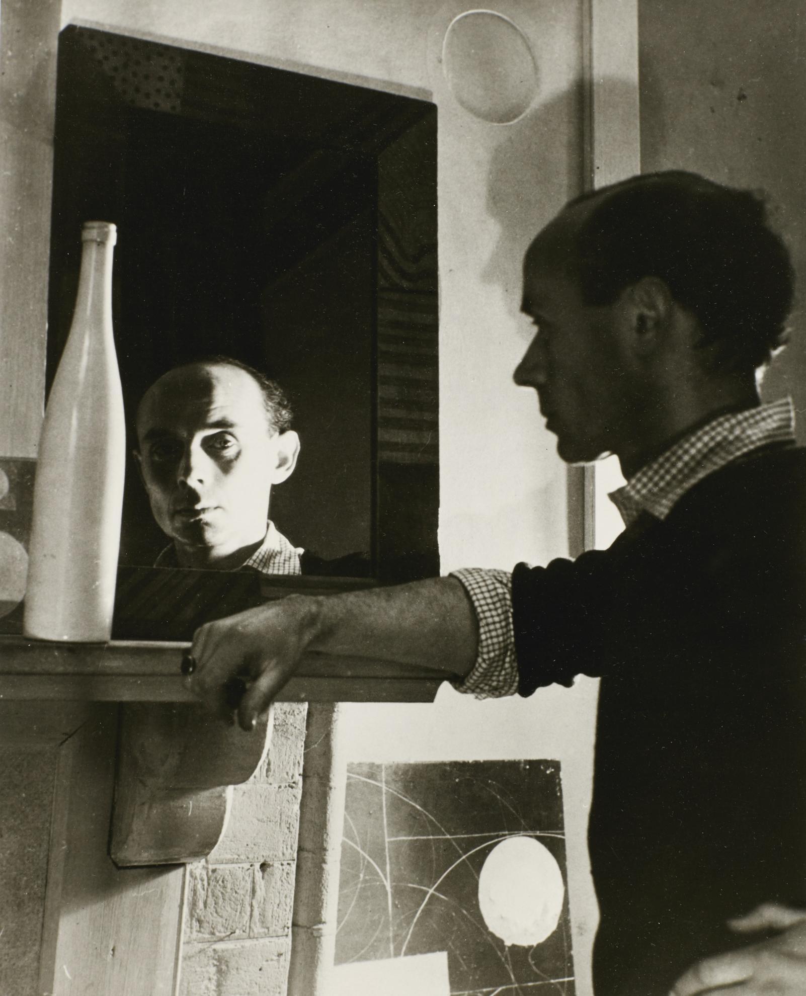 Humphrey Spender-Ben Nicholson In Hampstead, Circa 1935-1935