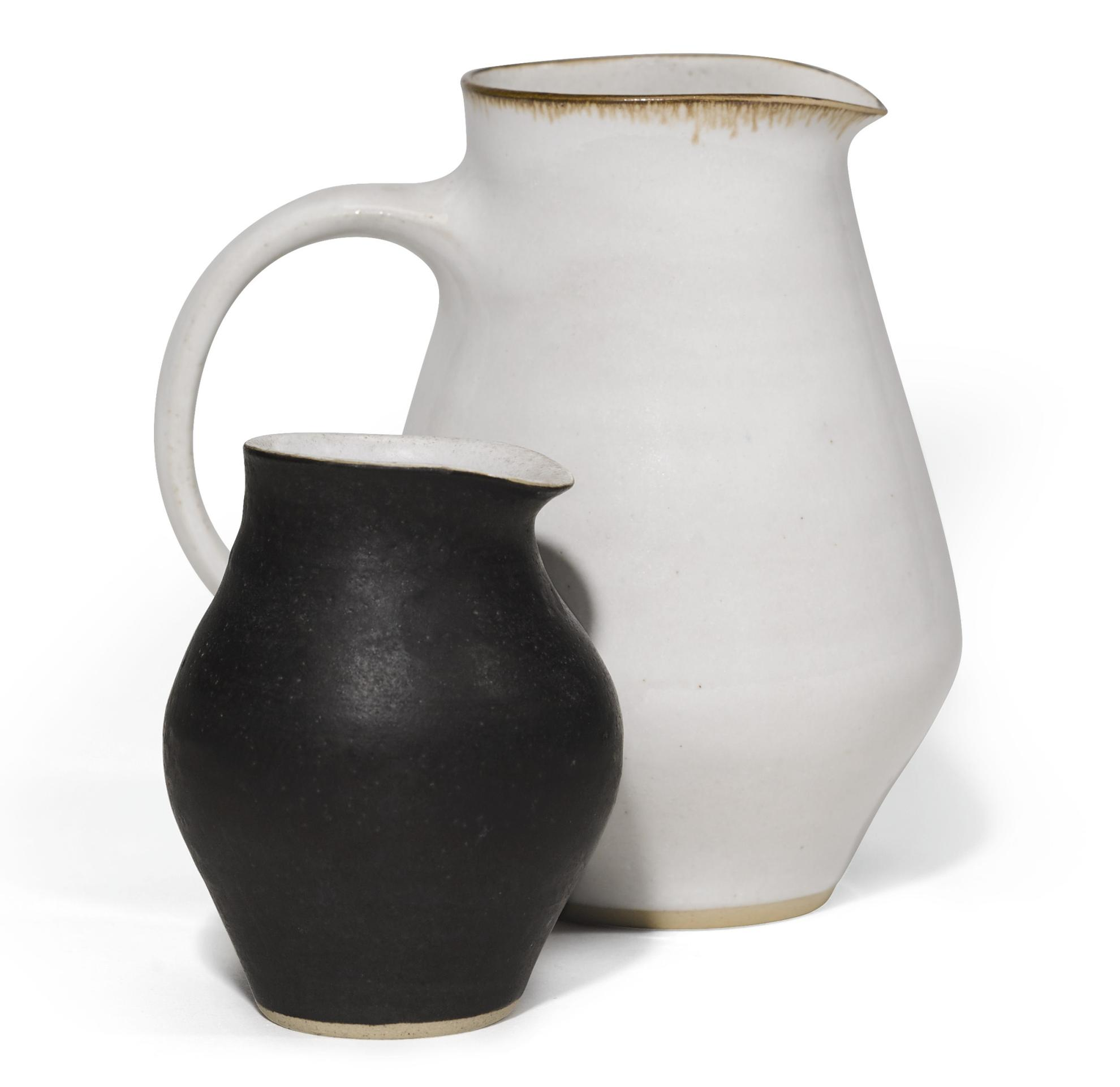 Dame Lucie Rie - Two Jugs-