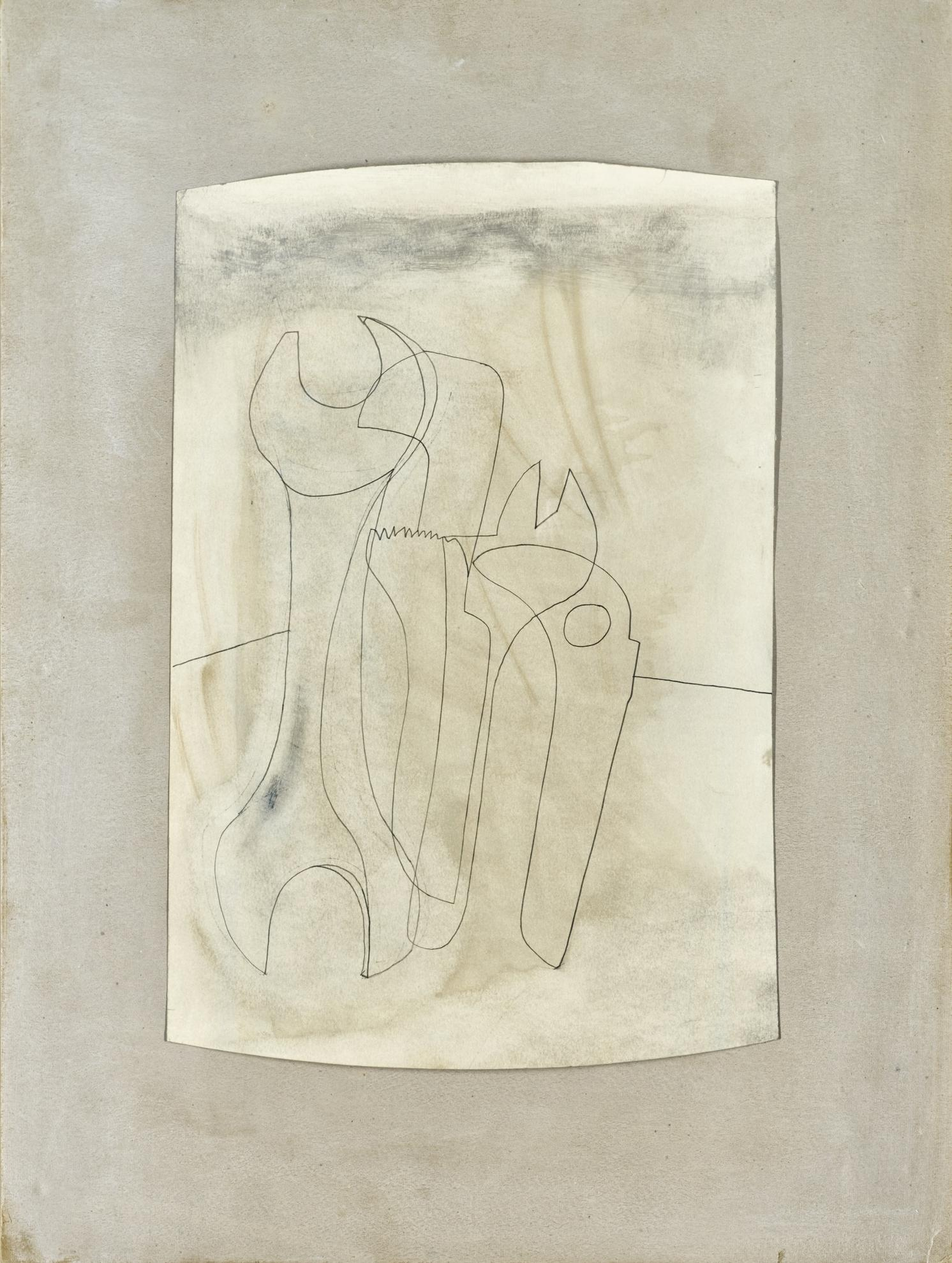 Ben Nicholson-Cluster Of Spanners-1973