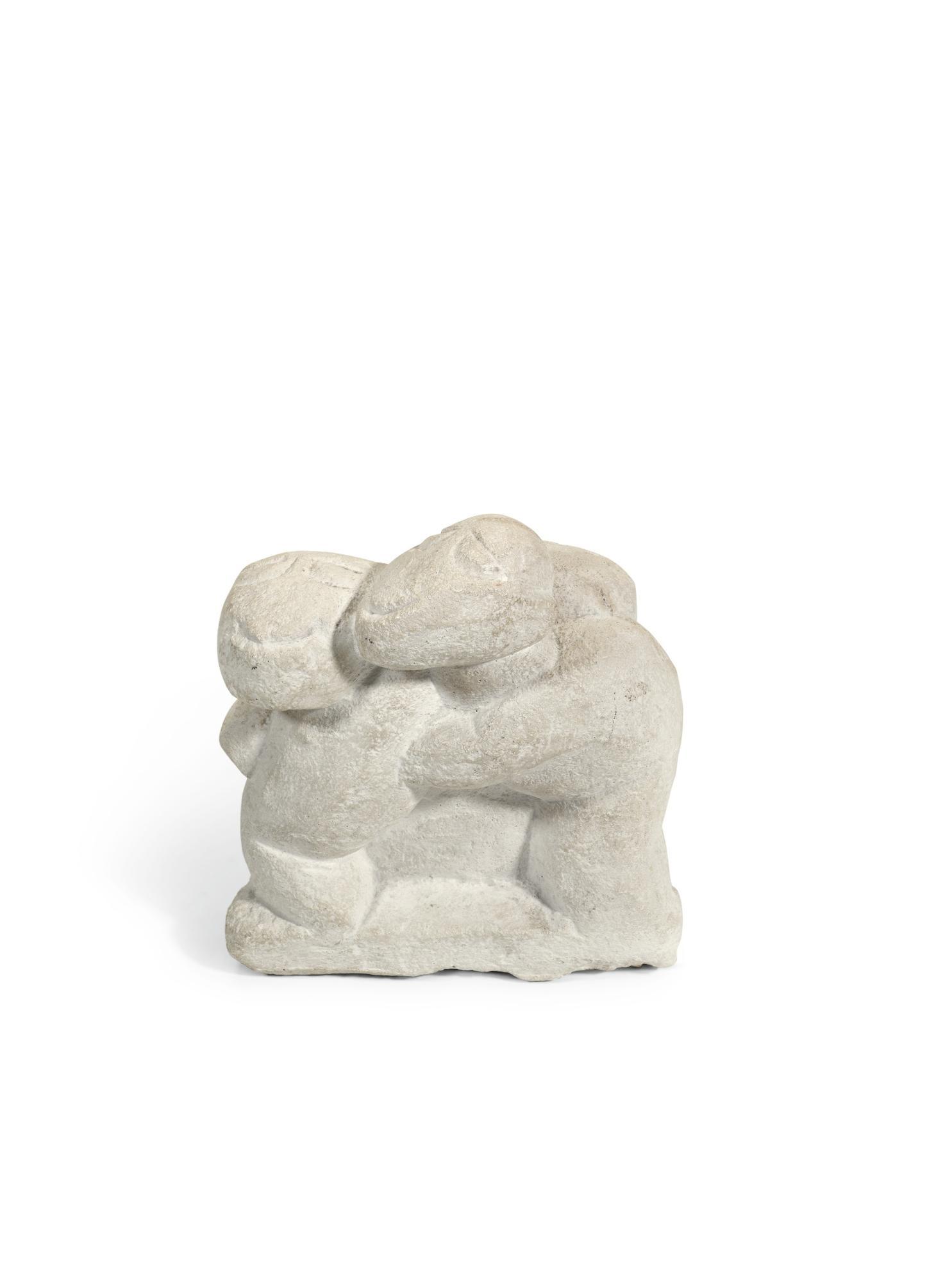 Henri Gaudier-Brzeska-Three Monkeys-1965