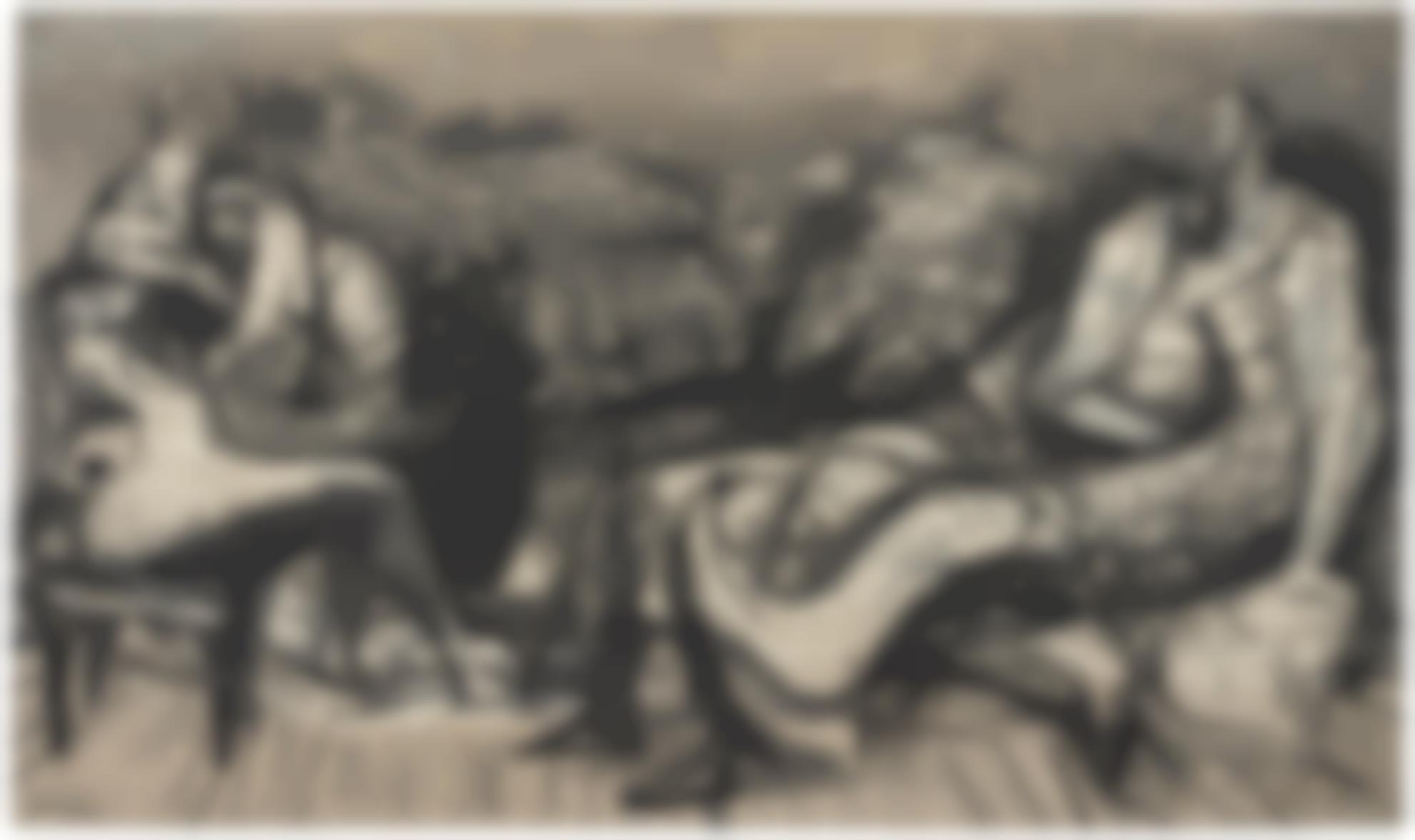 Henry Moore-Arrangement Of Figures-1973