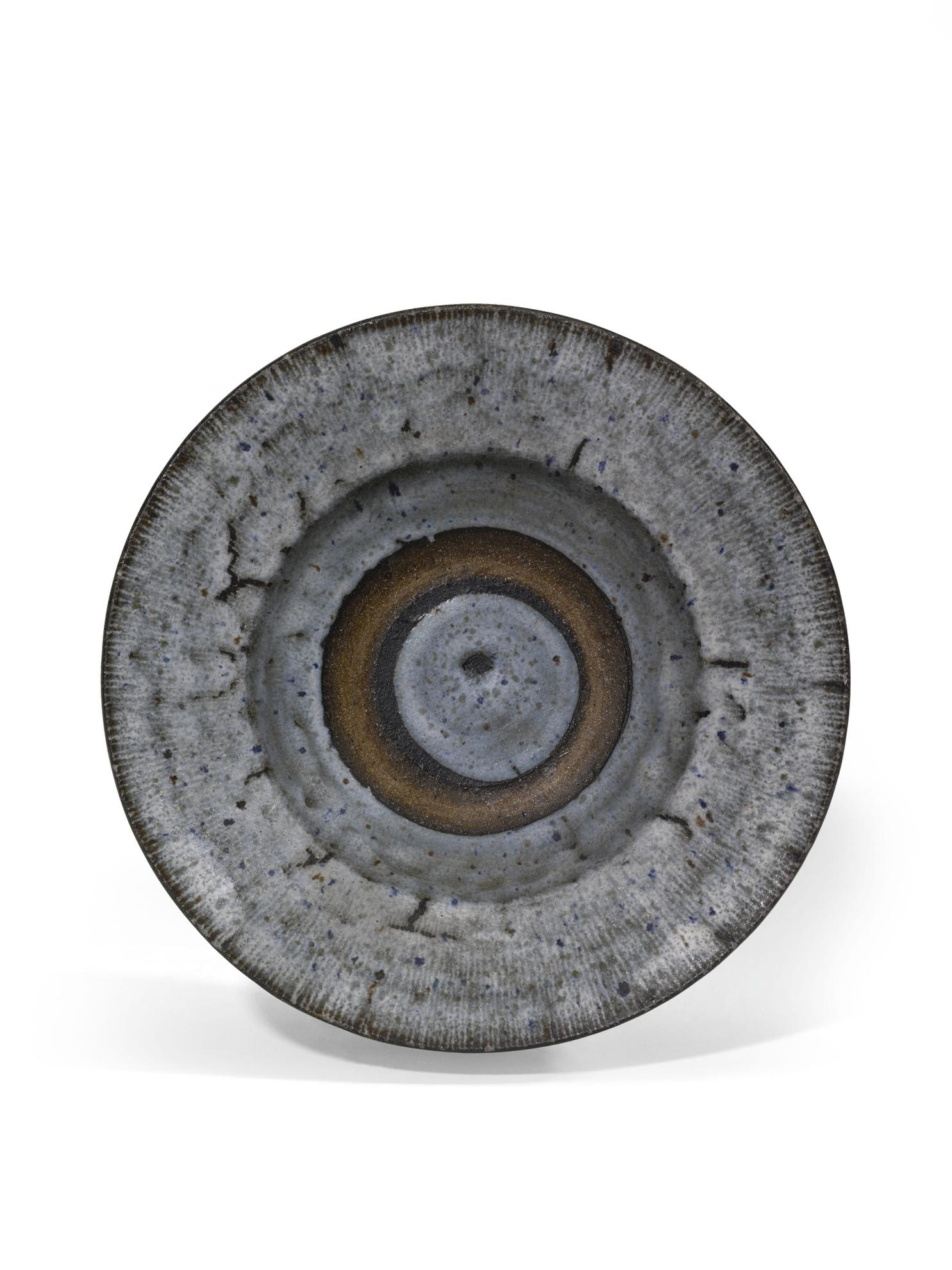 Dame Lucie Rie - Large Stoneware Bowl-1960