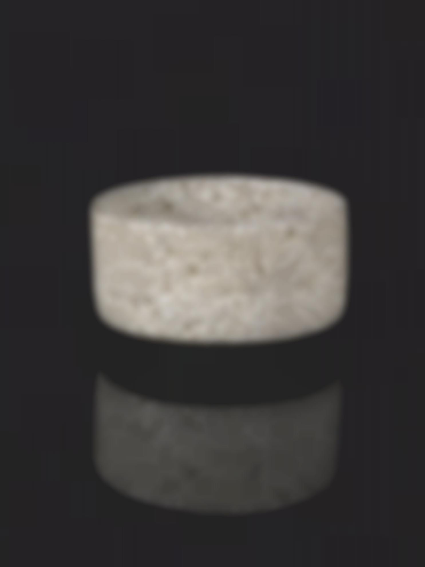Dame Lucie Rie - Large Cylindrical Bowl-1966