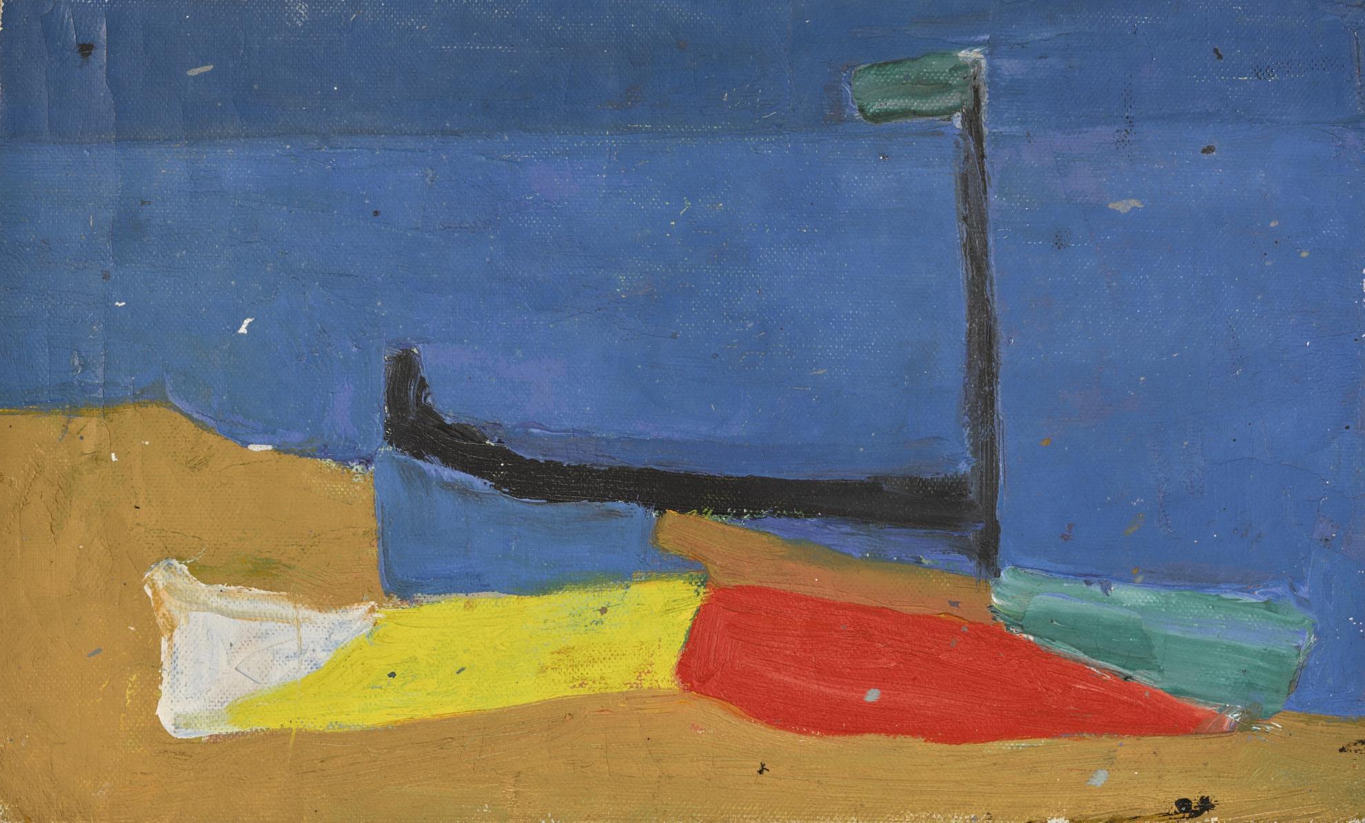 Margaret Mellis-Aldeburgh Boats-1950