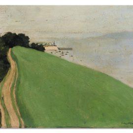 Felix Vallotton-La Route Dhonfleur-1902