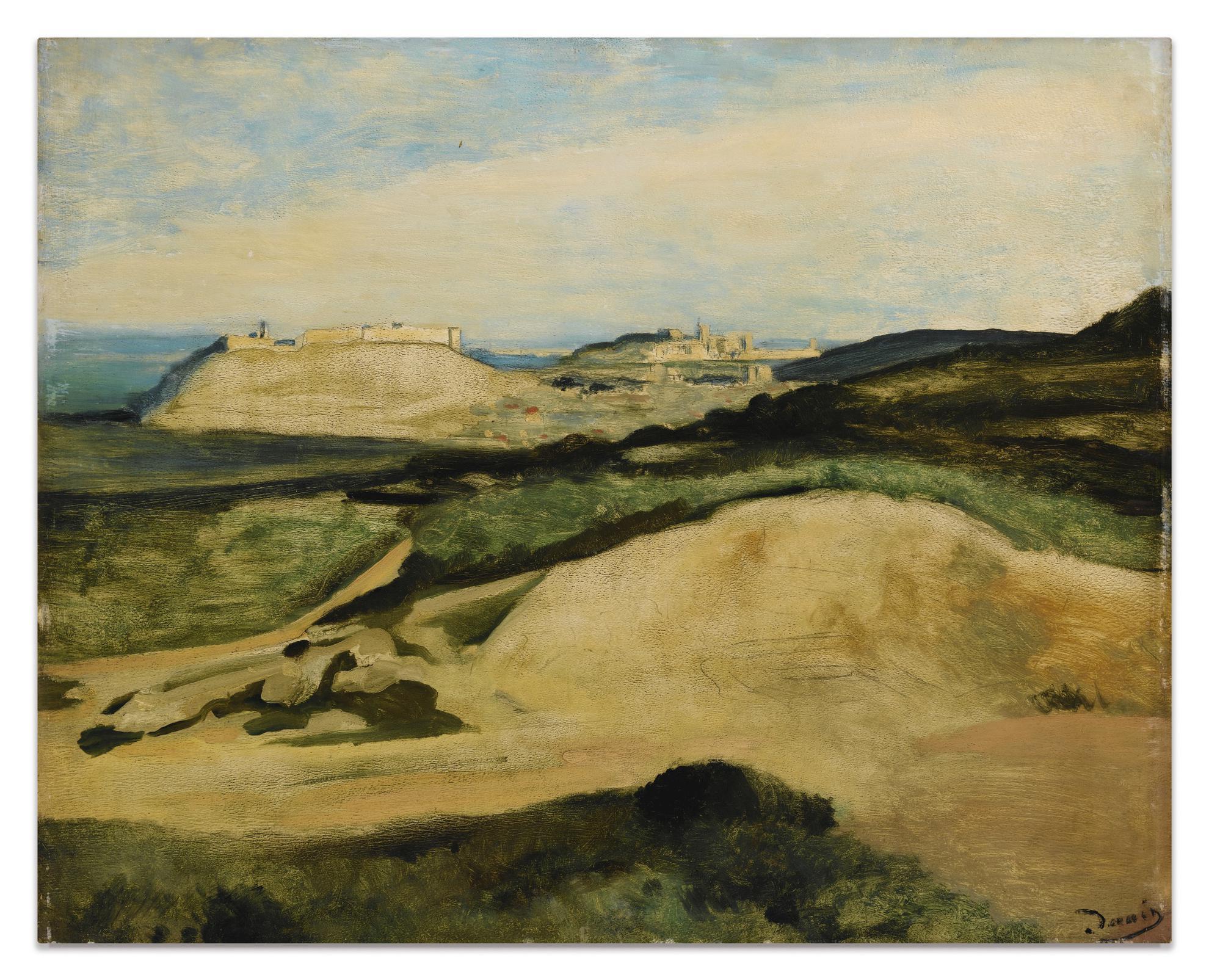 Andre Derain-Vue De Villeneuve-Les-Avignon-1930