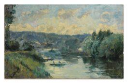 Albert Lebourg-Bas Meudon, La Seine