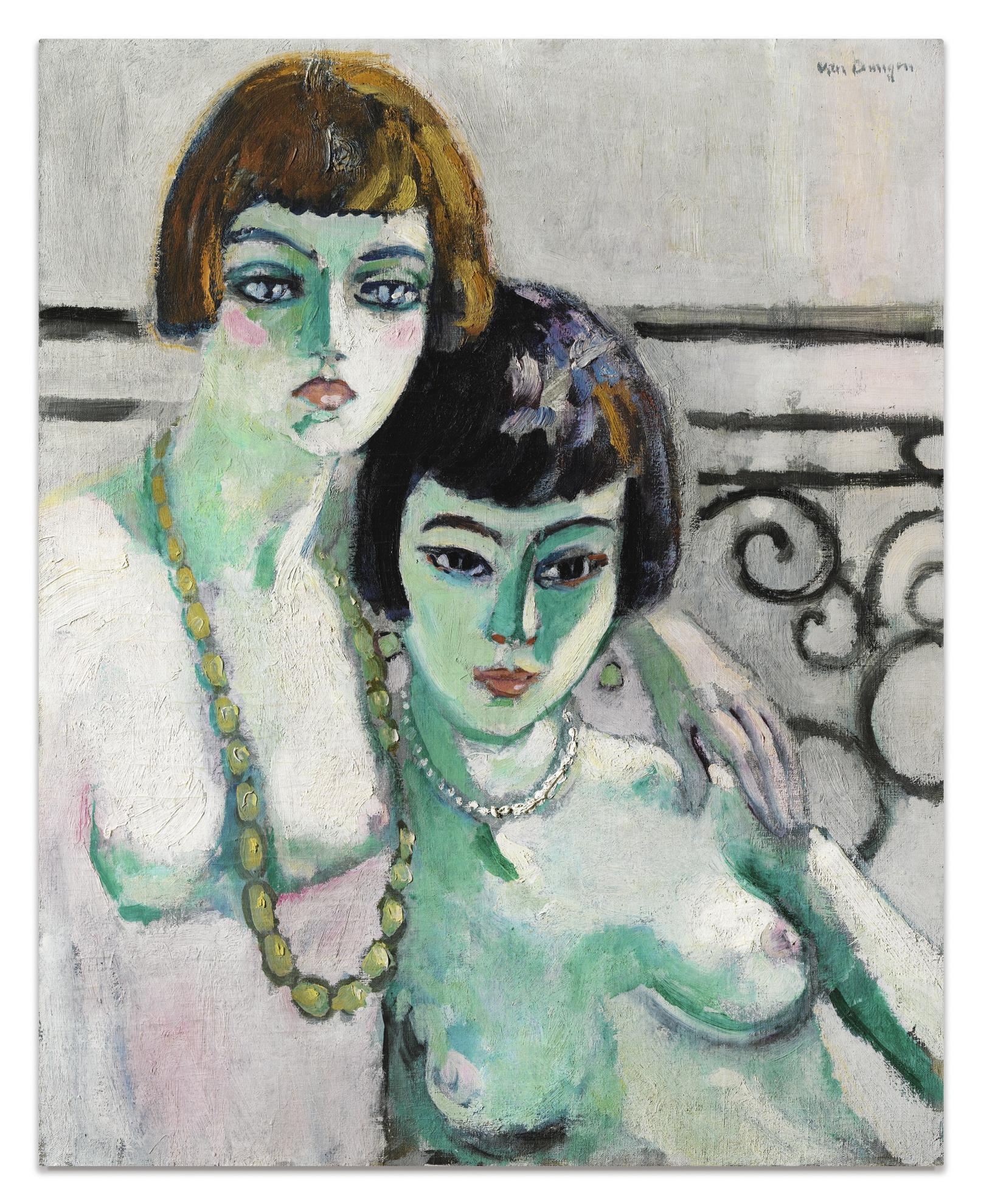 Kees van Dongen-Les Amies-1922