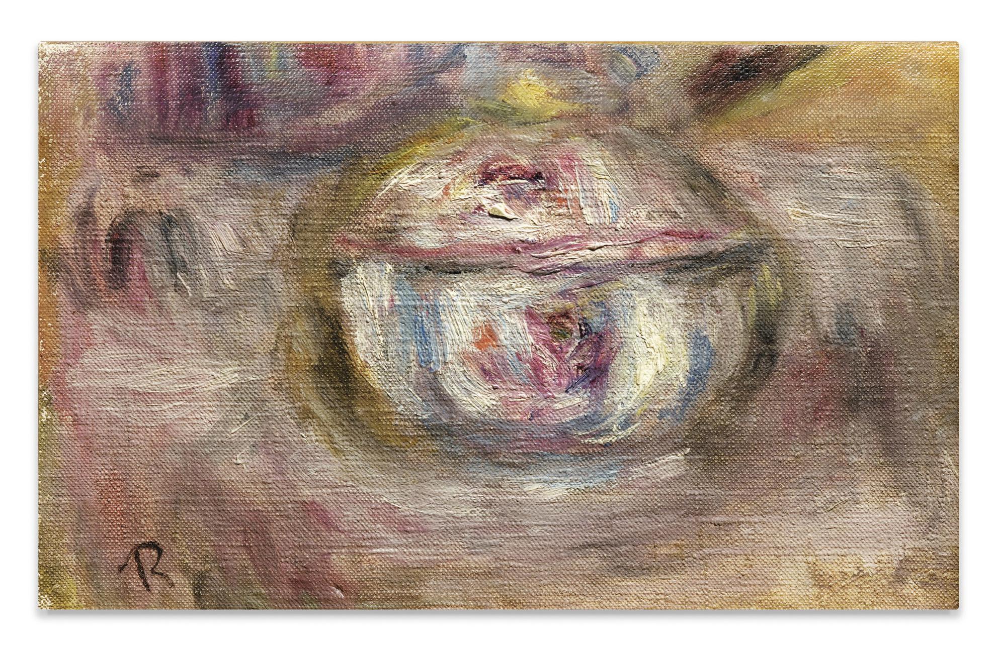Pierre-Auguste Renoir-Sucrier. Fragment-