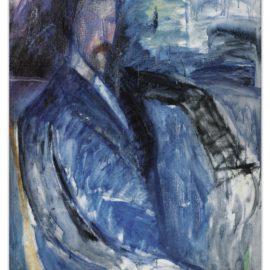 Amedeo Modigliani-Portrait Inacheve De Paul Alexandre - Recto; Etude De Nu Masculin - Verso-1913