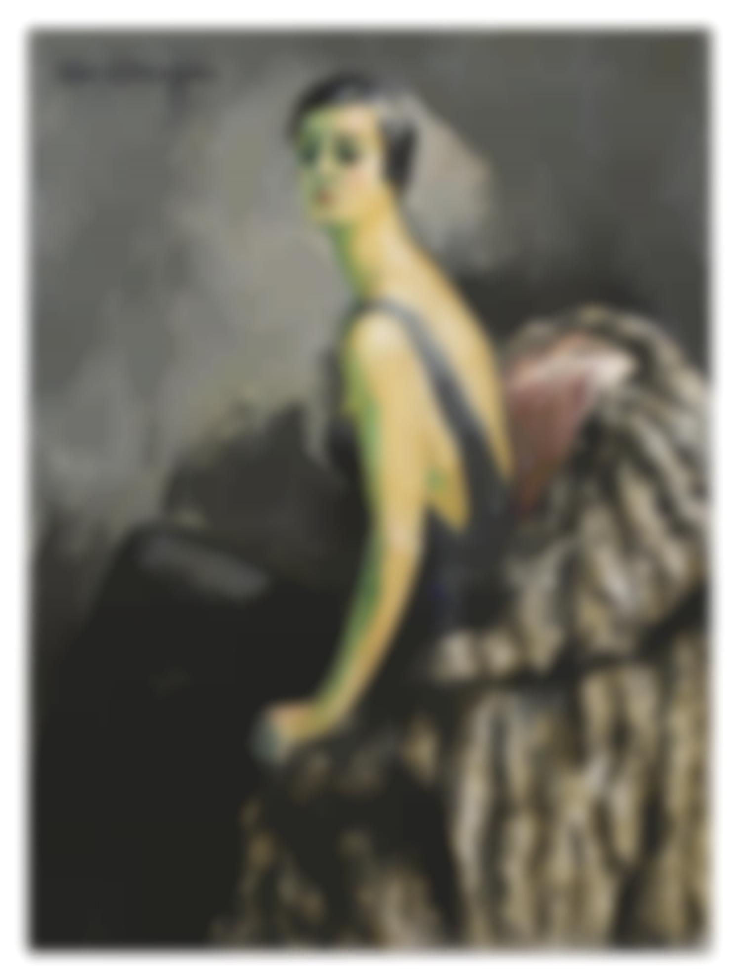 Kees van Dongen-Portrait De Femme Assise-