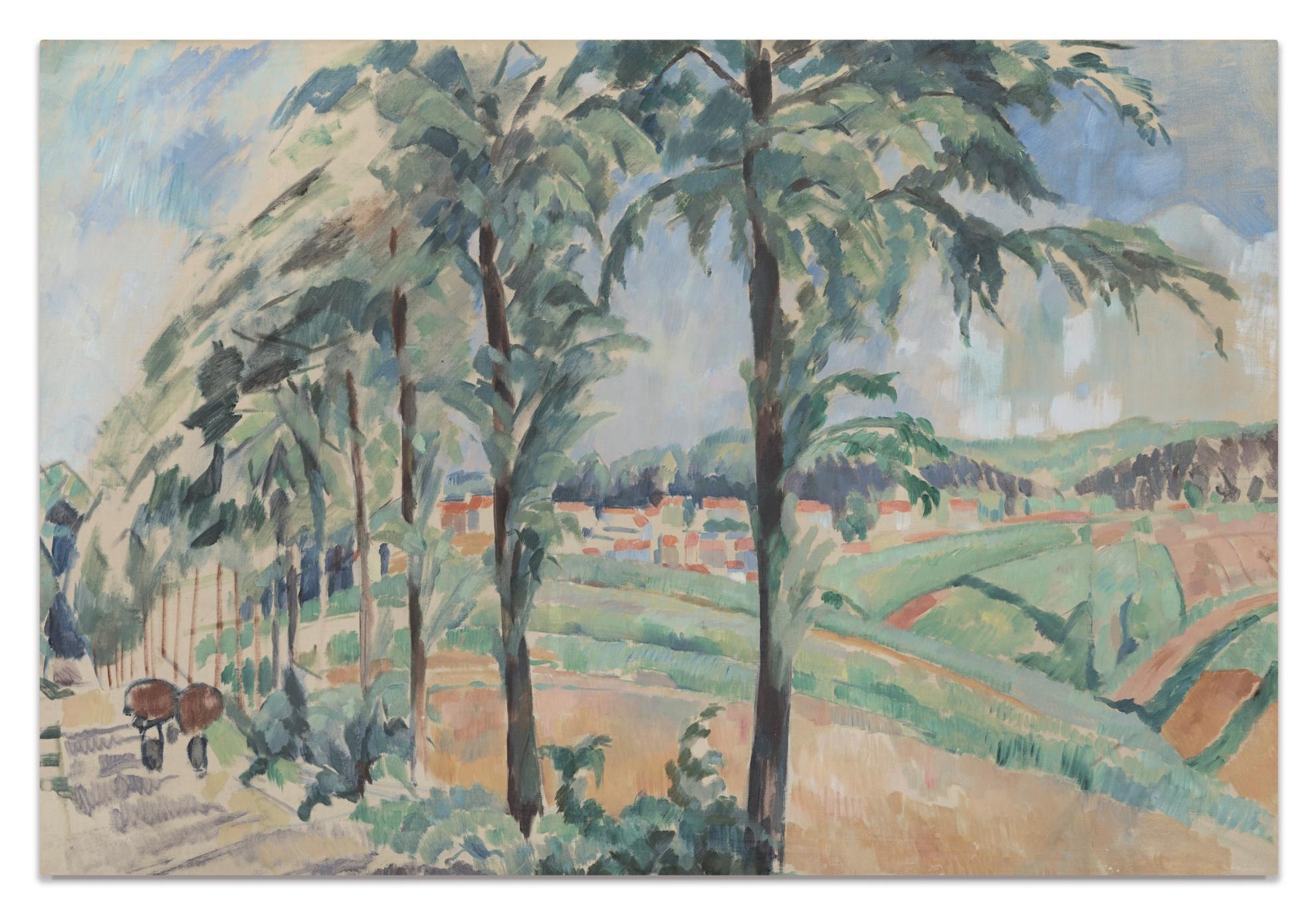 Rik Wouters - Le Kattenberg-1914