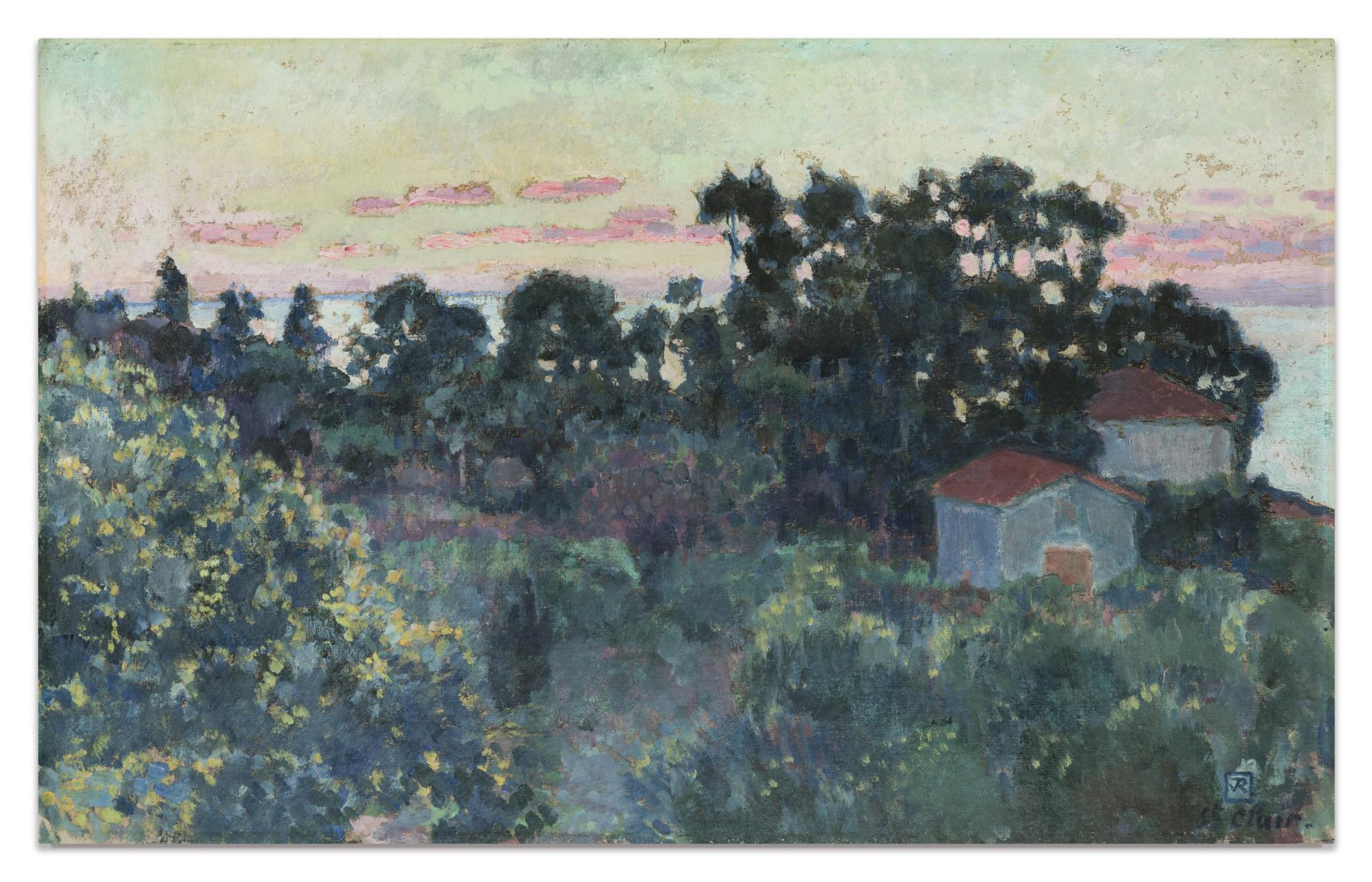 Theo van Rysselberghe-St Clair-1917