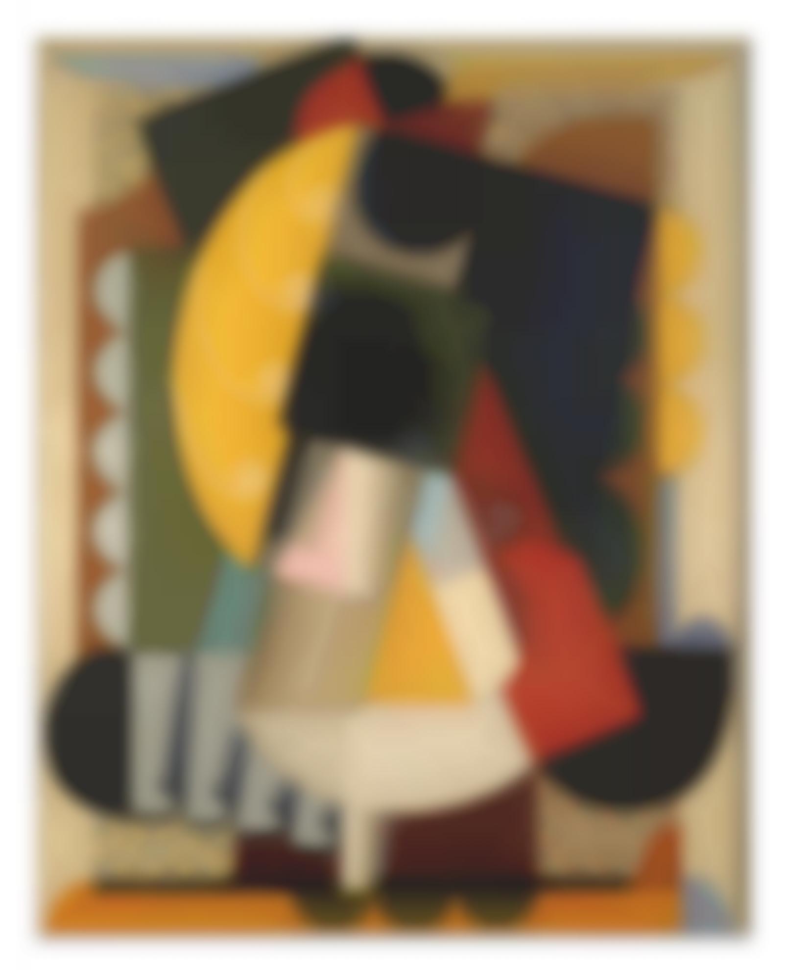 Auguste Herbin-Composition Cubiste-1918