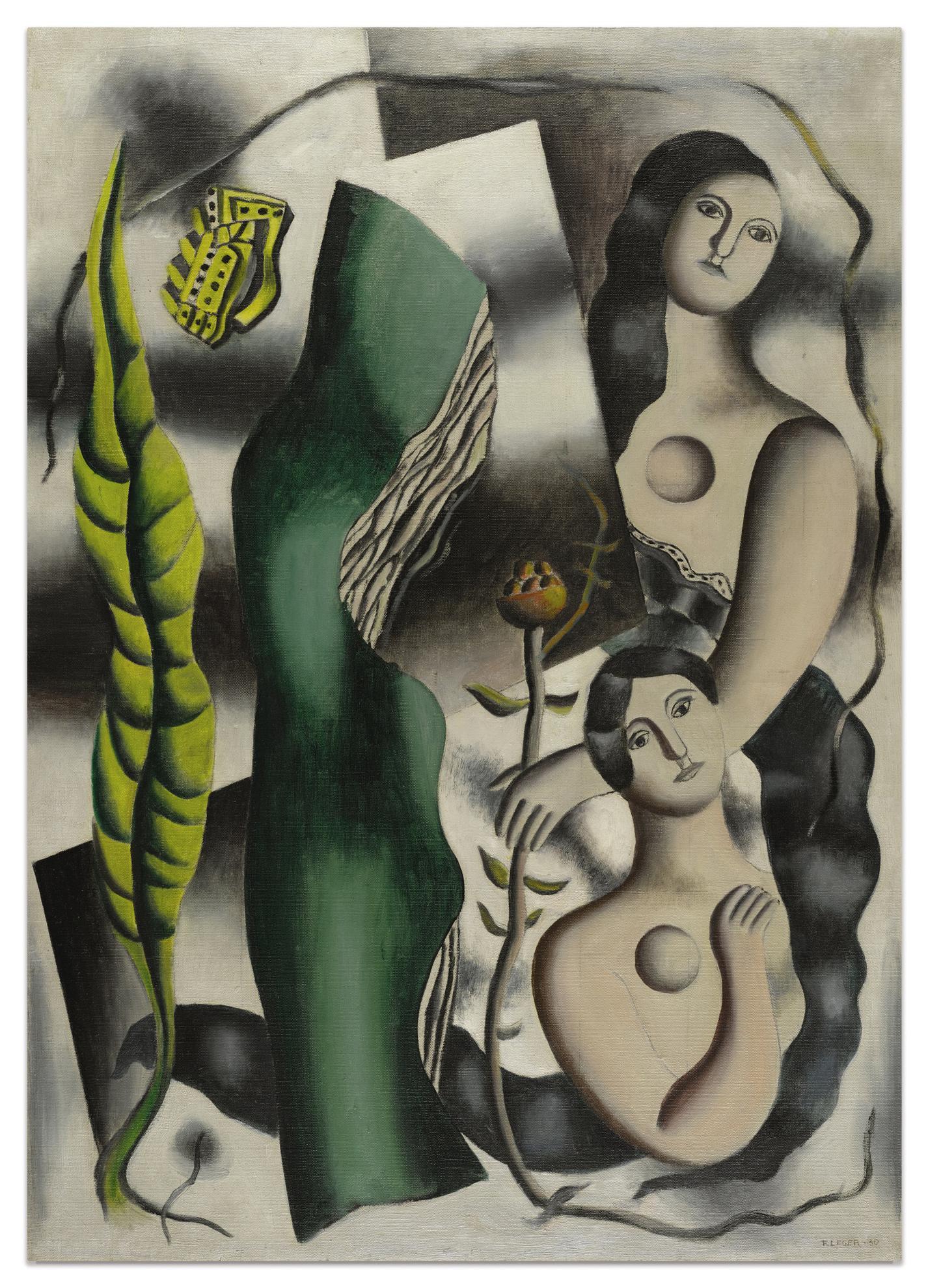 Fernand Leger-La Carte Postale-1930
