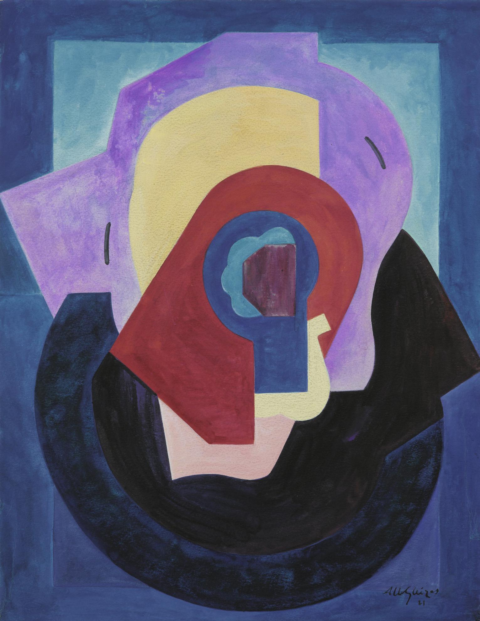 Albert Gleizes-Composition-1921