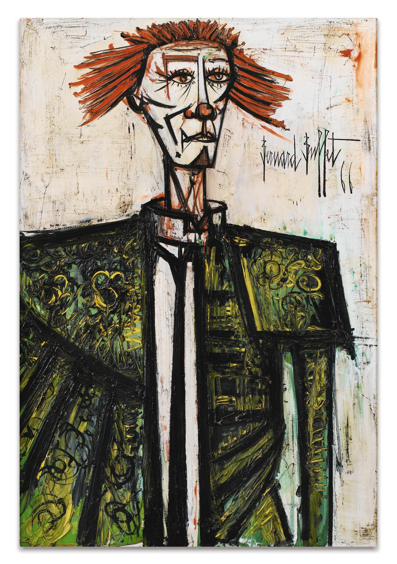 Bernard Buffet-Clown-1966