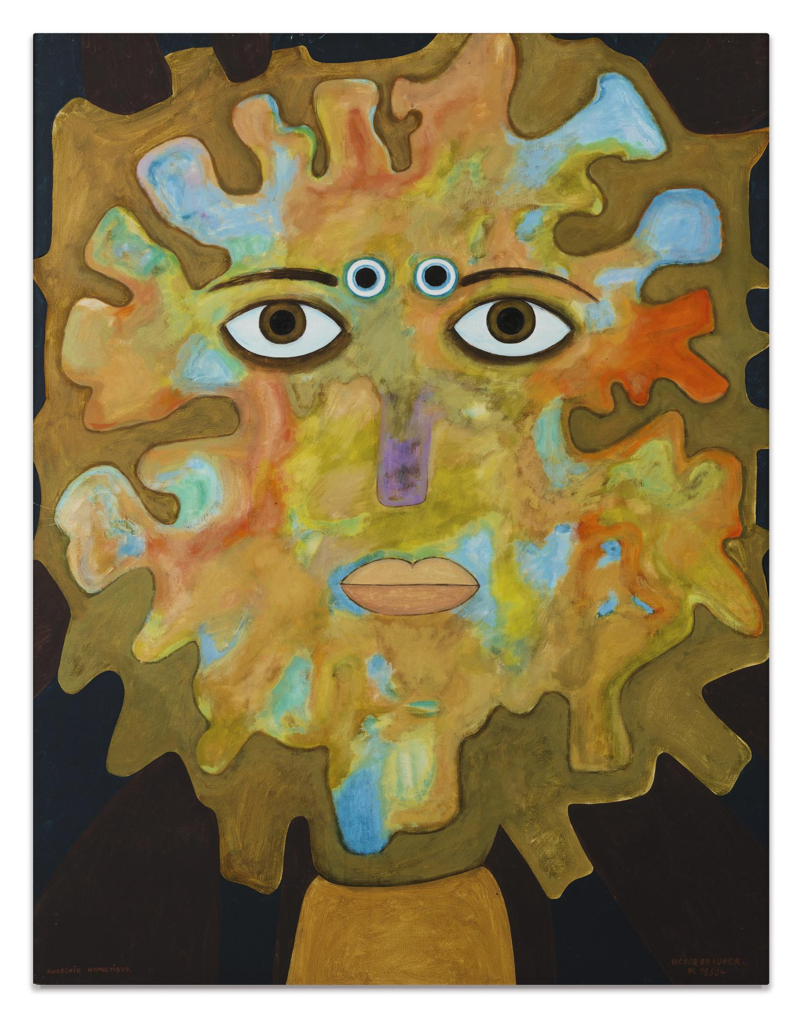 Victor Brauner-Anarchie Hypnotique-1960