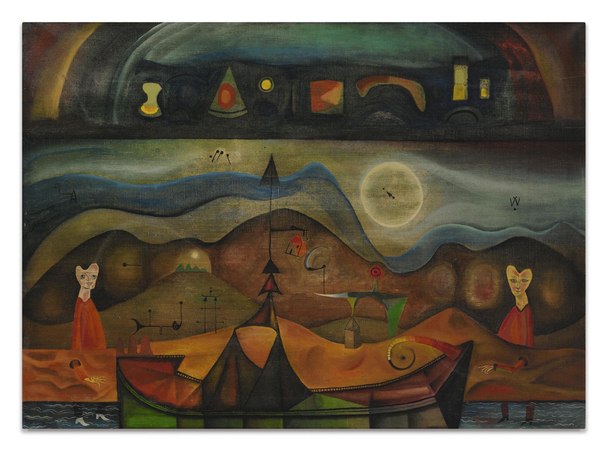 Modest Cuixart-Brufungles-1949