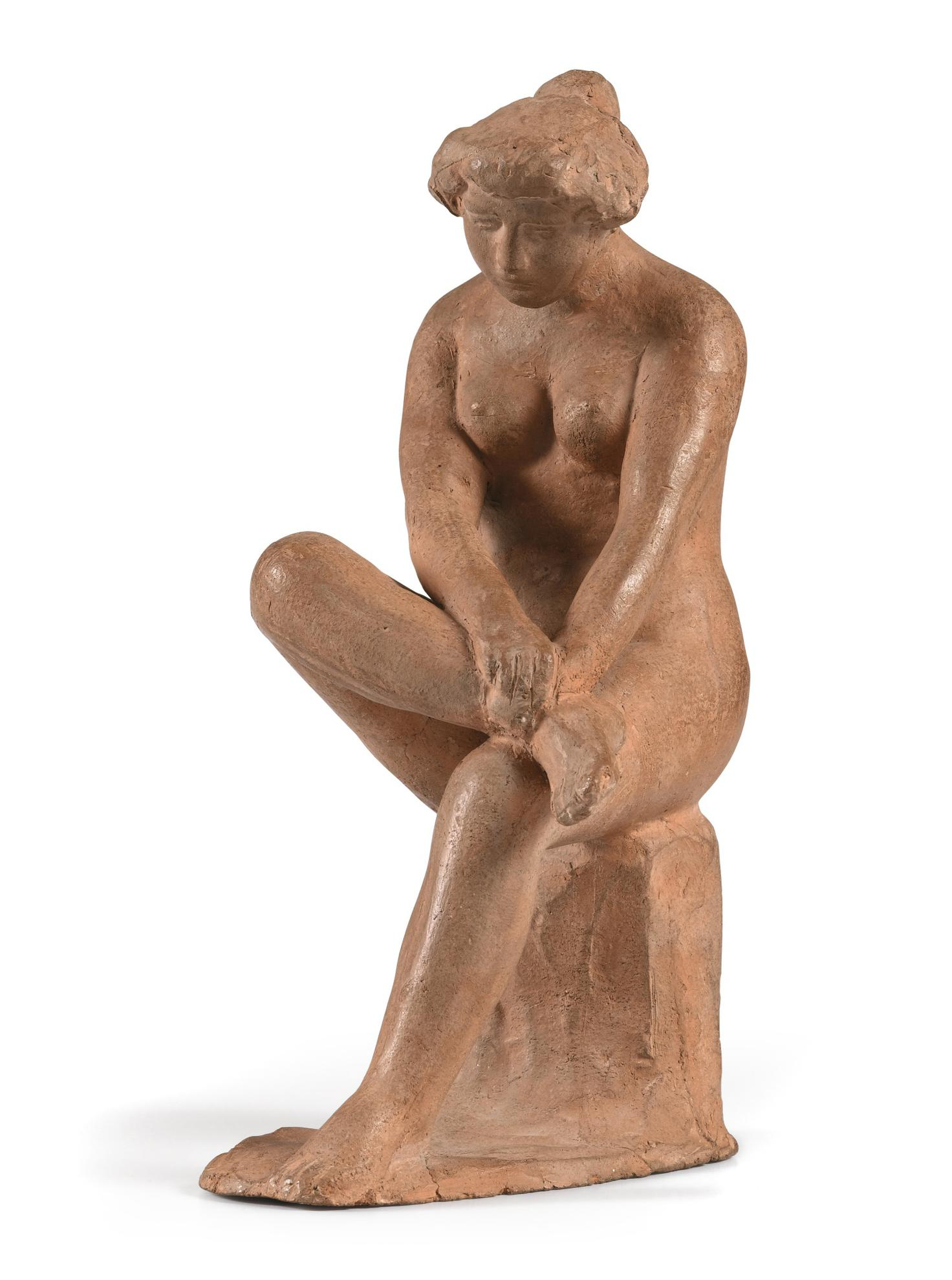Aristide Maillol-Femme Assise-1900
