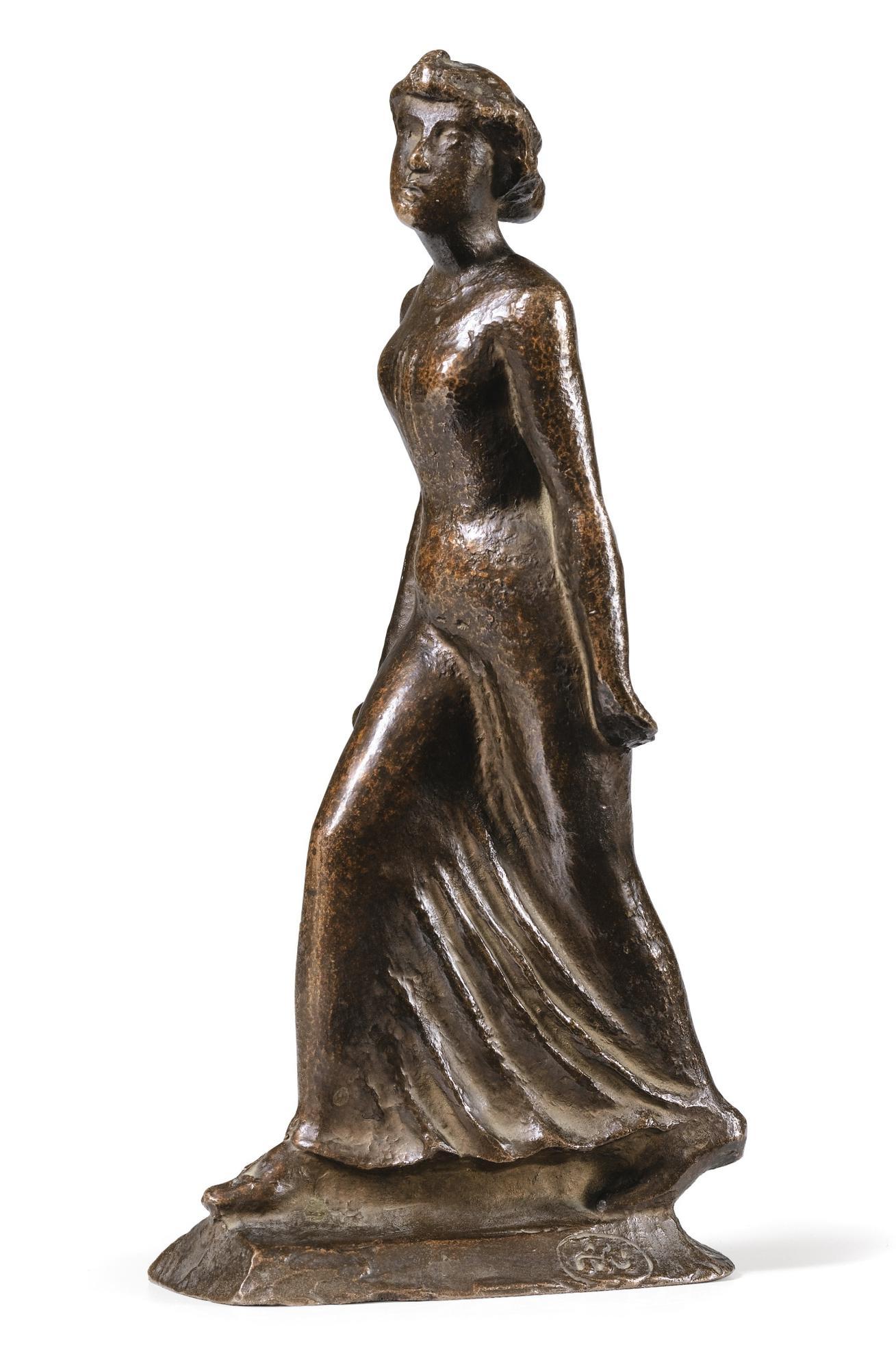 Aristide Maillol-La Parisienne-1896