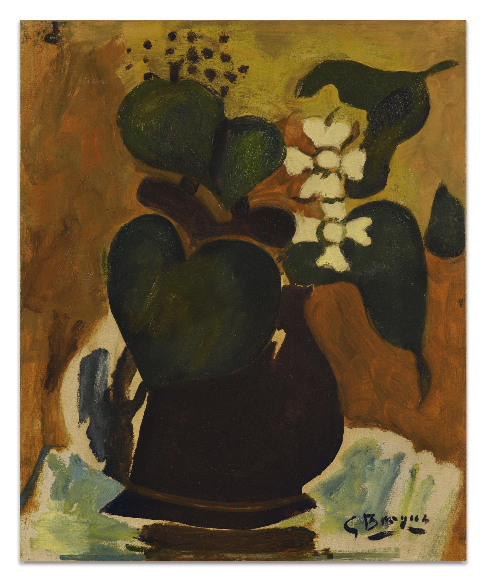 Georges Braque-Le Pichet De Lierre-1943