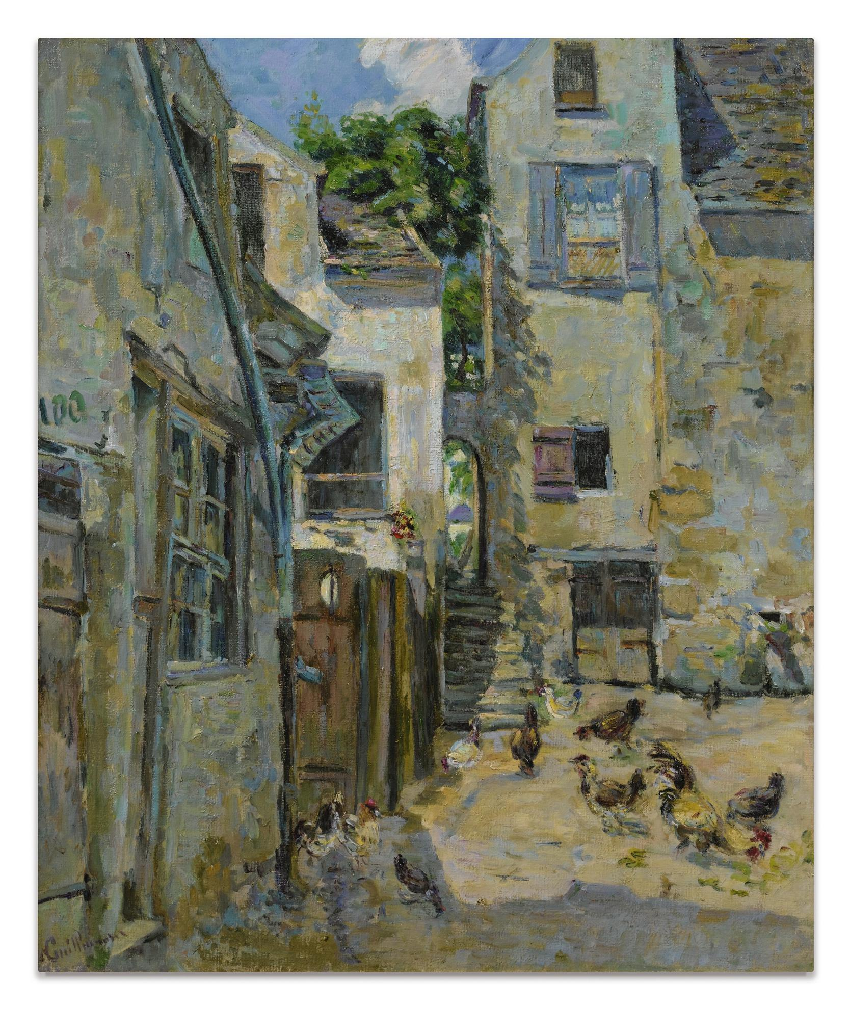 Jean-Baptiste Armand Guillaumin-Village Dans Lile De France-1888