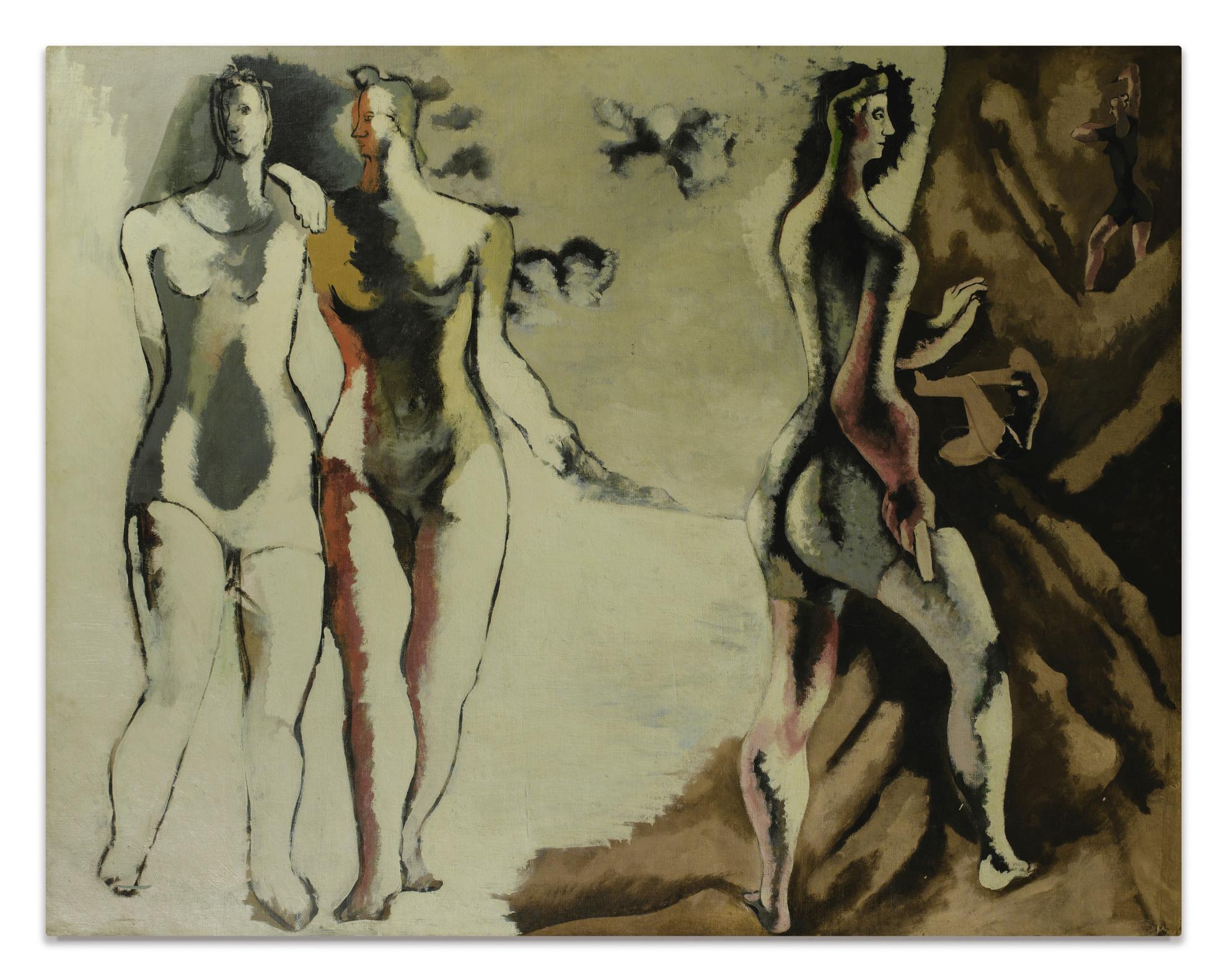Jean Lurcat-Les Baigneuses-1933