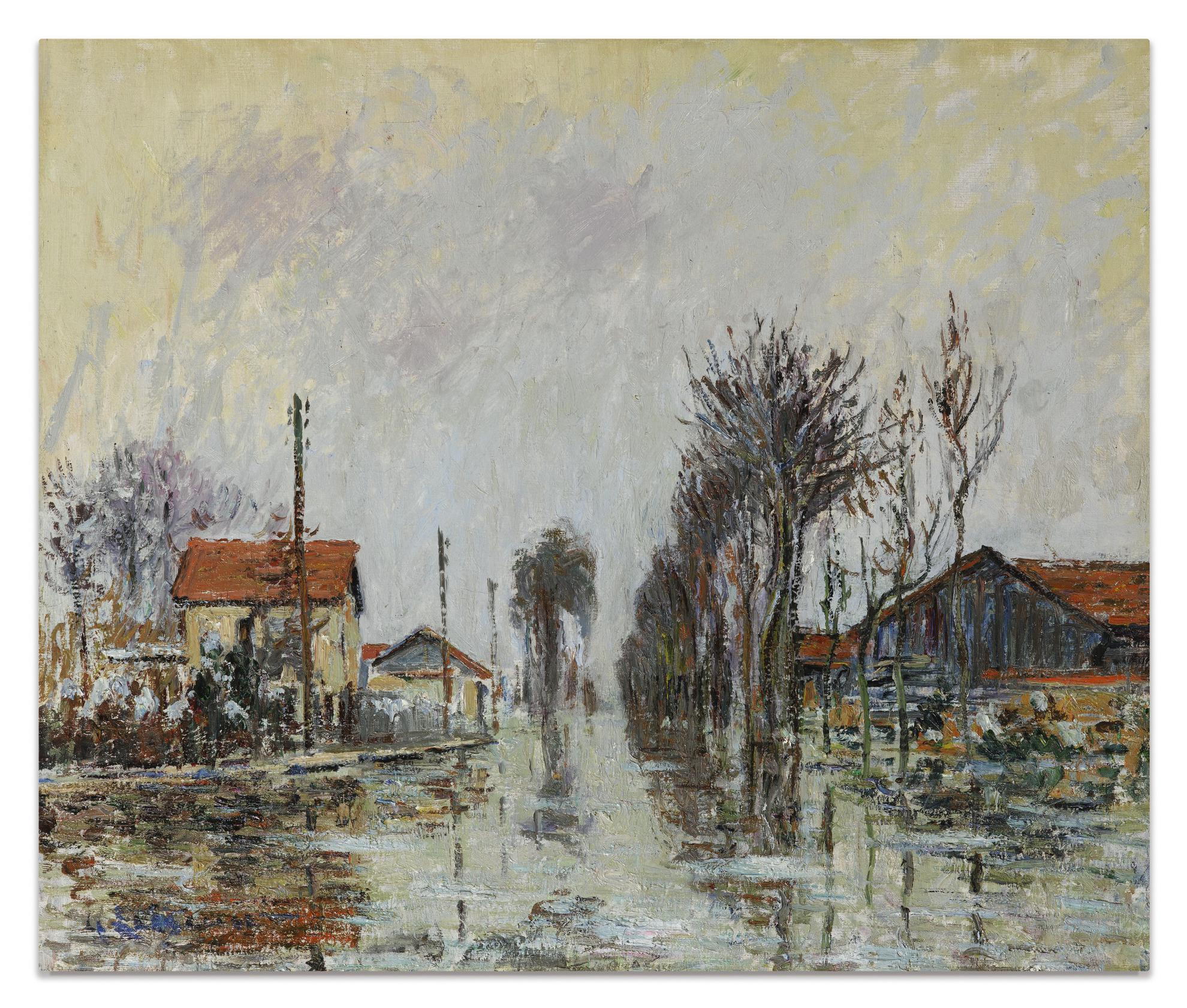 Gustave Loiseau-Inondation-1910