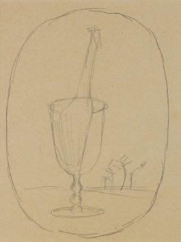 Rene Magritte-Le Bain De Cristal-1940