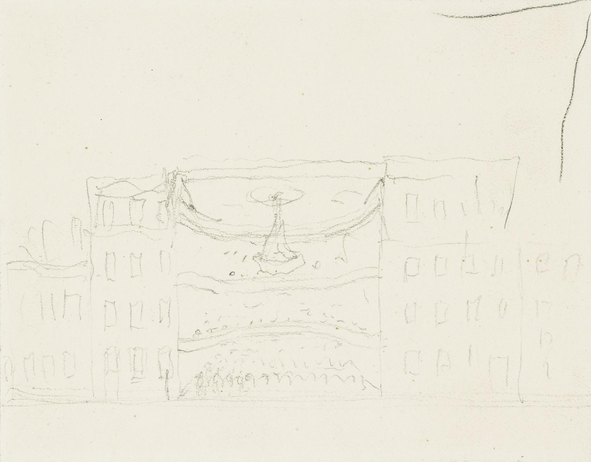Rene Magritte-Esquisse De Theatre-1946