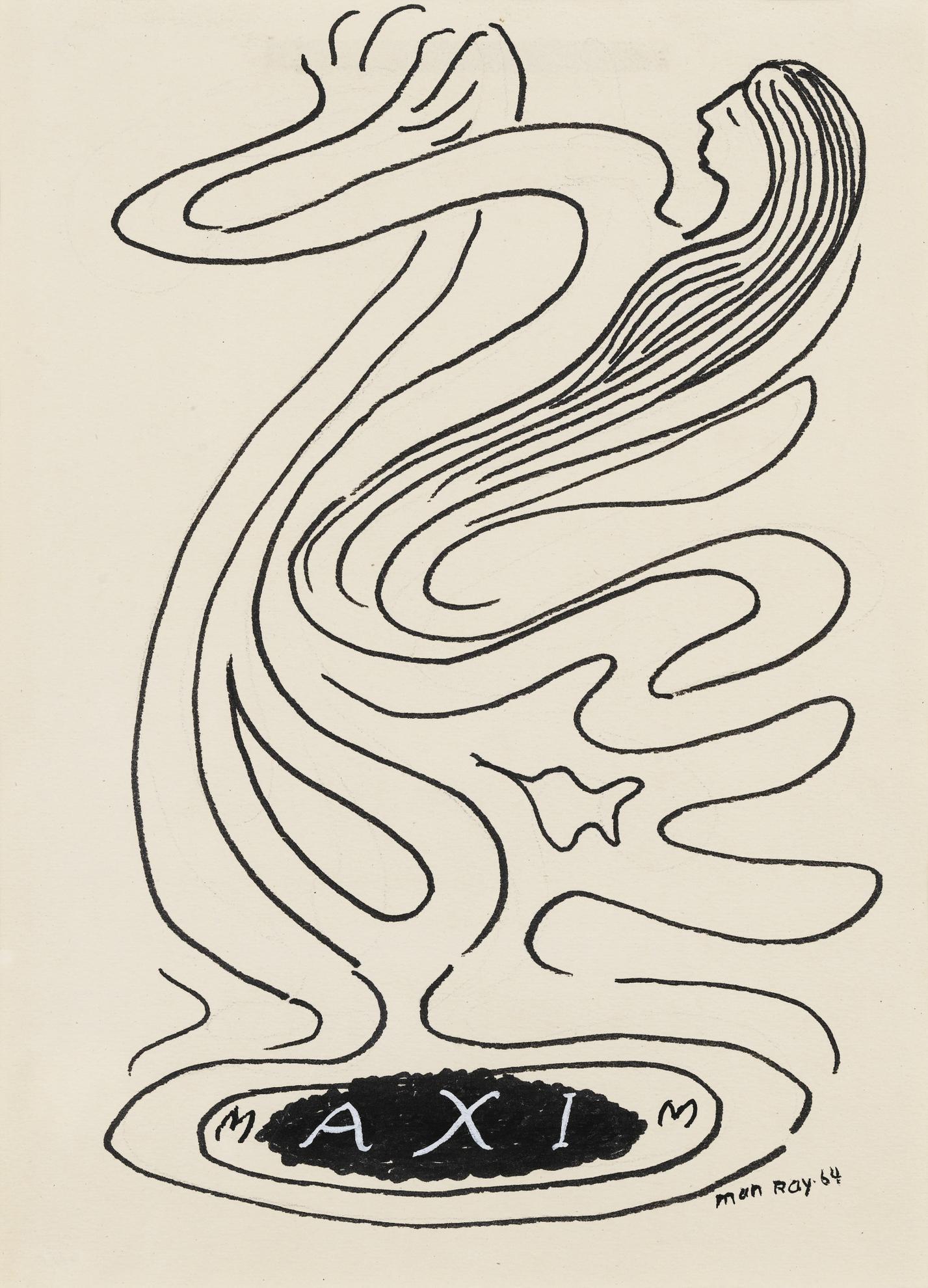 Man Ray-Maxim-1964