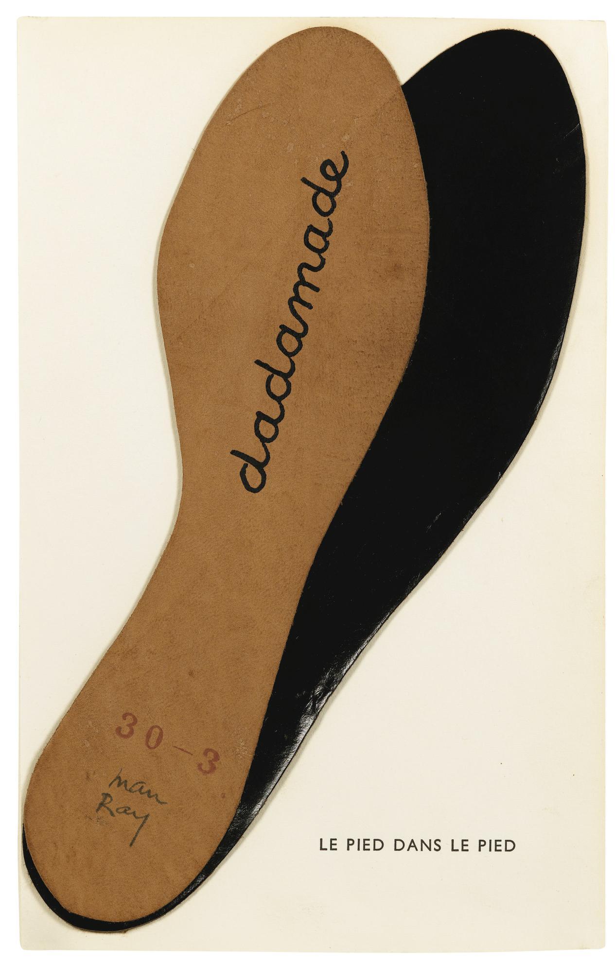 Man Ray-Le Pied Dans Le Pied (Dadamade)-1957