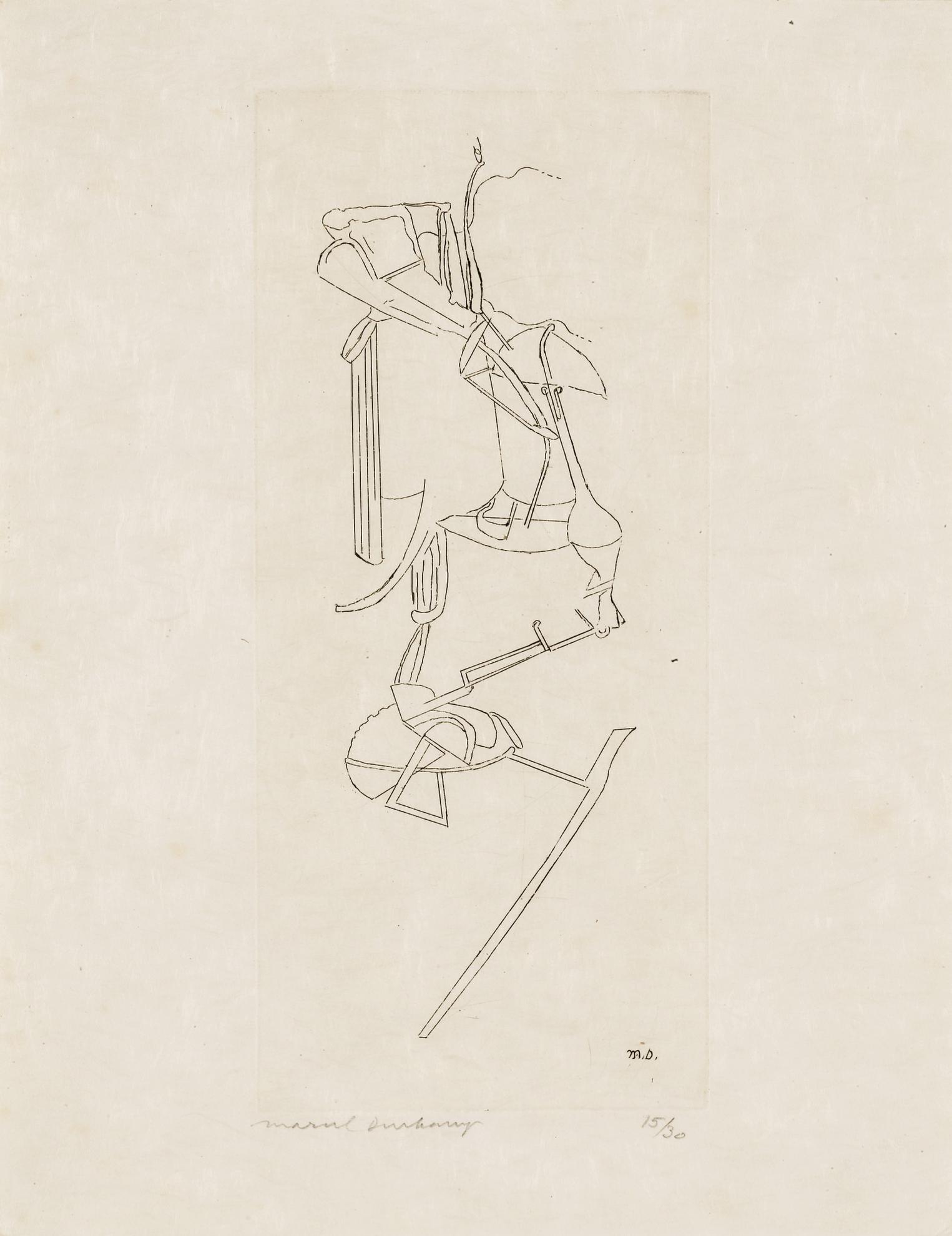 Marcel Duchamp-The Bride-1965