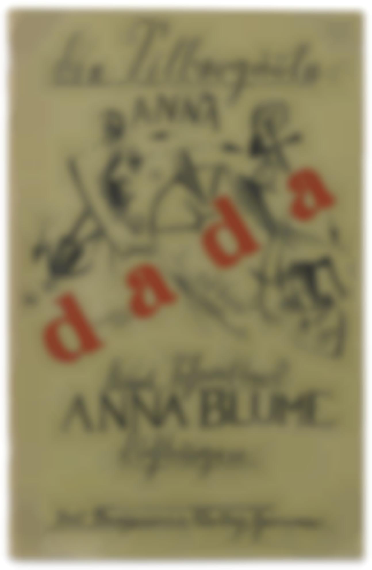 Kurt Schwitters-Ohne Titel (Entwurf Fur Titel Zu: Kurt Schwitters, Anna Blume. Dichtungen, Die Silbergaule 39/40, Paul Steegemann Verlag, Hannover 1920) (Untitled (Draft Of Title Page For Kurt Schwitters, Anna Blume. Dichtungen, Die Silbergaule 39/40, Paul Steegemann Verlag, Hanover 1920))-1919